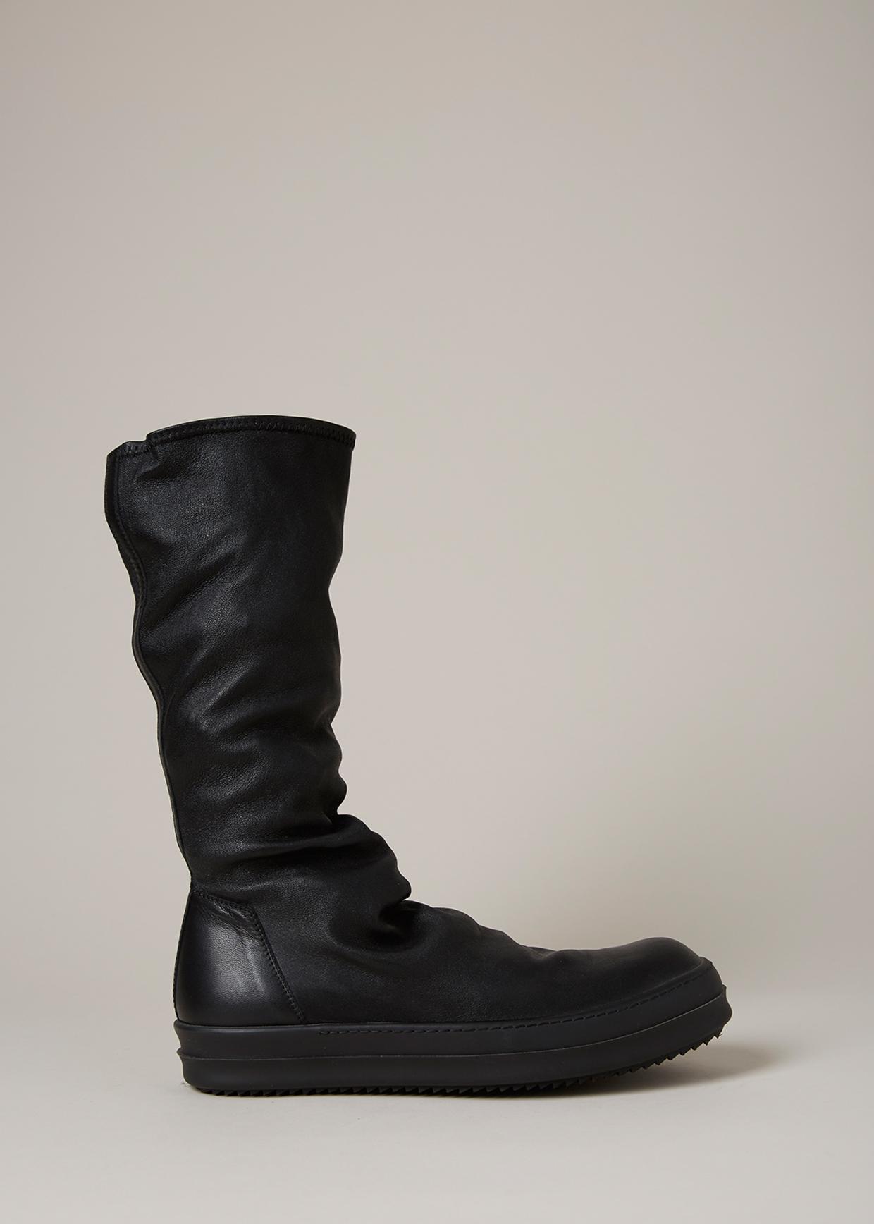 Stocking sneakers - Black Rick Owens vVMloLT2I