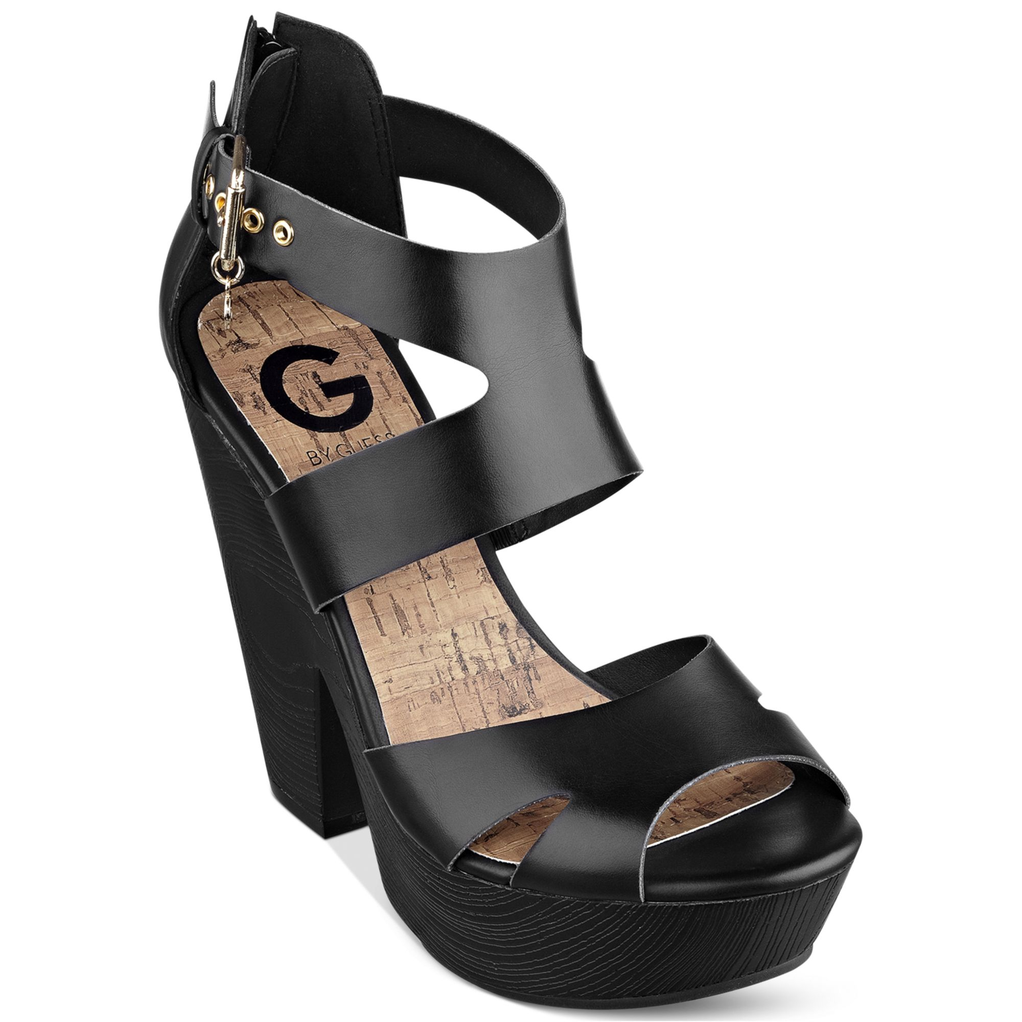 Original By Guess  Multicolor Womens Keeper Flat Sandals  Lyst