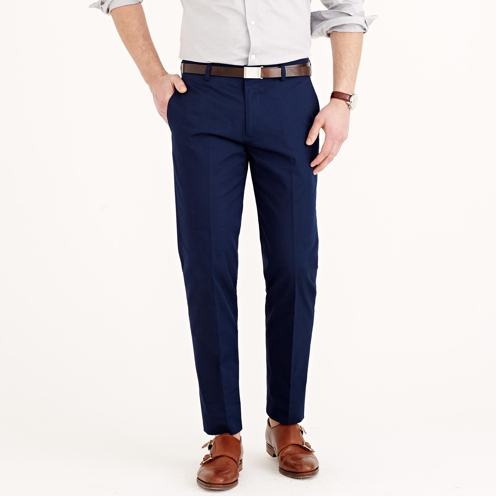 Men s clothing pants j crew pants j crew blue ludlow chino for J crew mens outfits