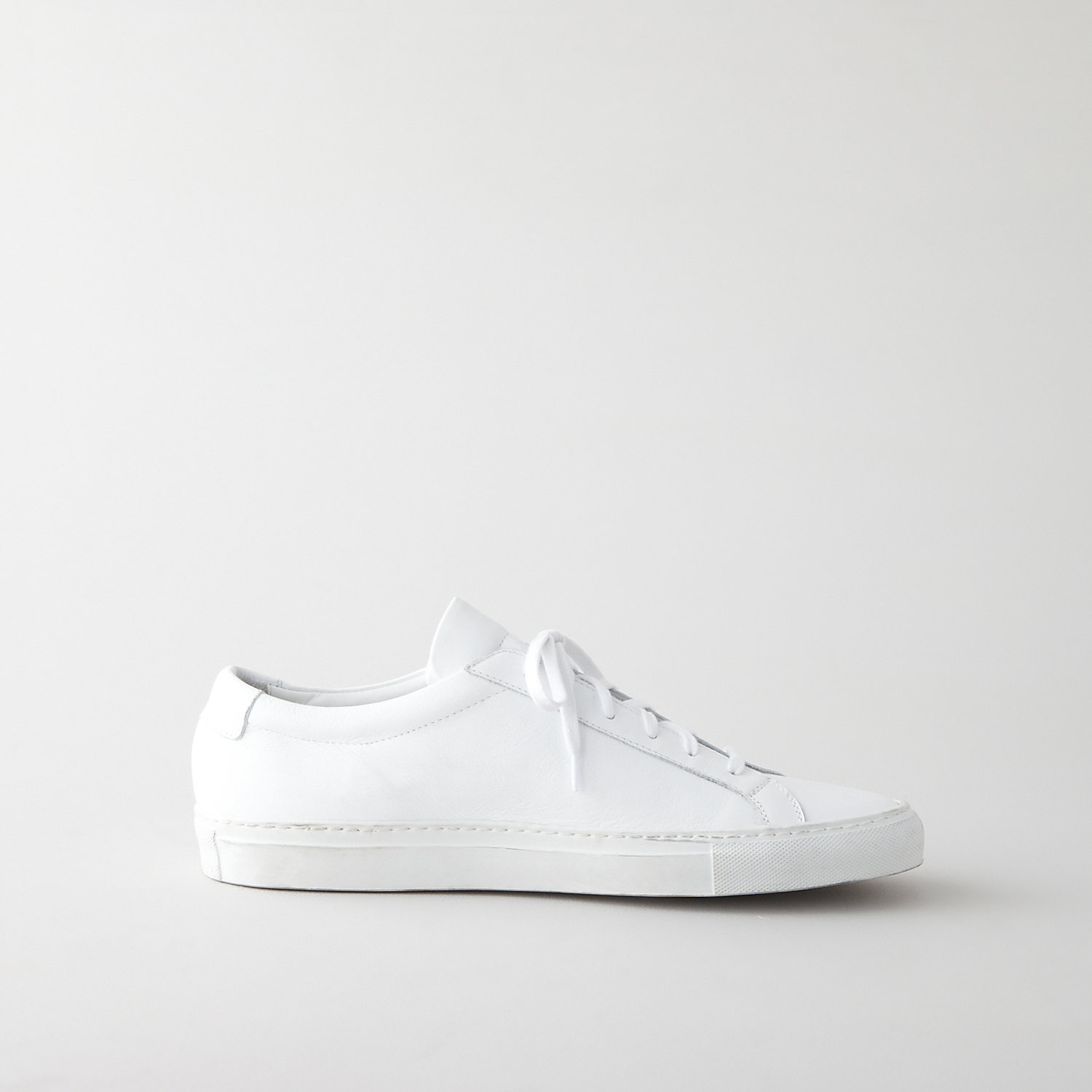common projects original achilles low leather sneaker in white for men lyst. Black Bedroom Furniture Sets. Home Design Ideas