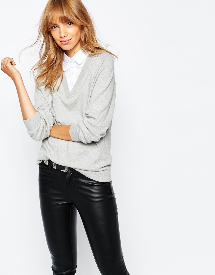 Collared Shirts With Sweaters Lauren Goss
