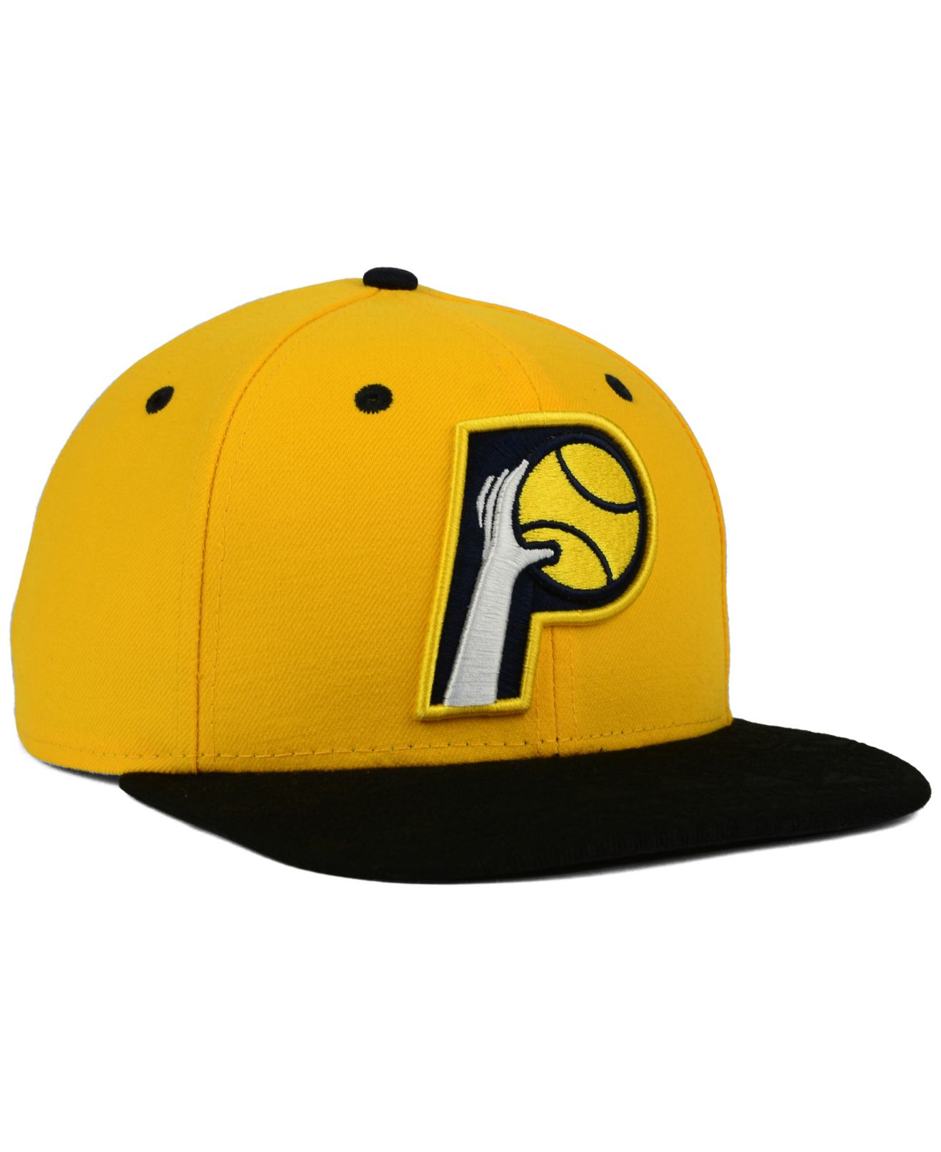 super popular 7fede 0c4ed ... greece lyst ktz indiana pacers tone 9fifty snapback cap in yellow for  men 05dc3 63387