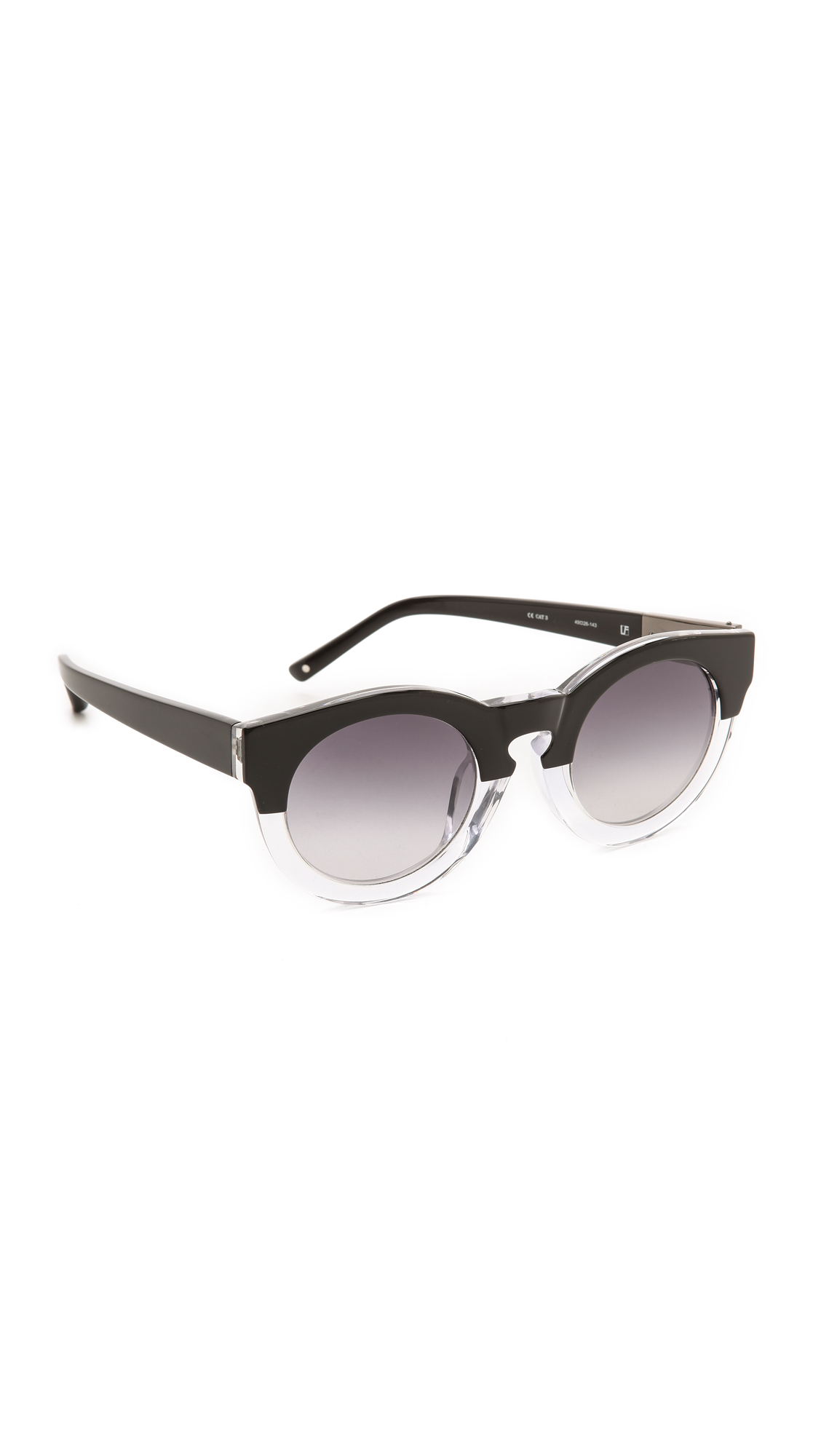 3.1 phillip lim Thick Frame Sunglasses in Black Lyst