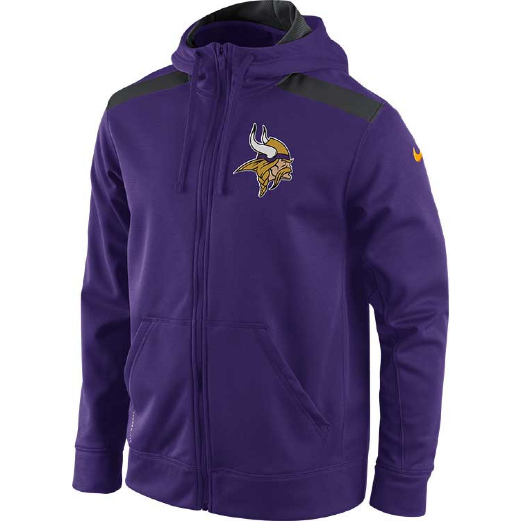 Lyst Nike Mens Minnesota Vikings Shield Nailhead Fullzip