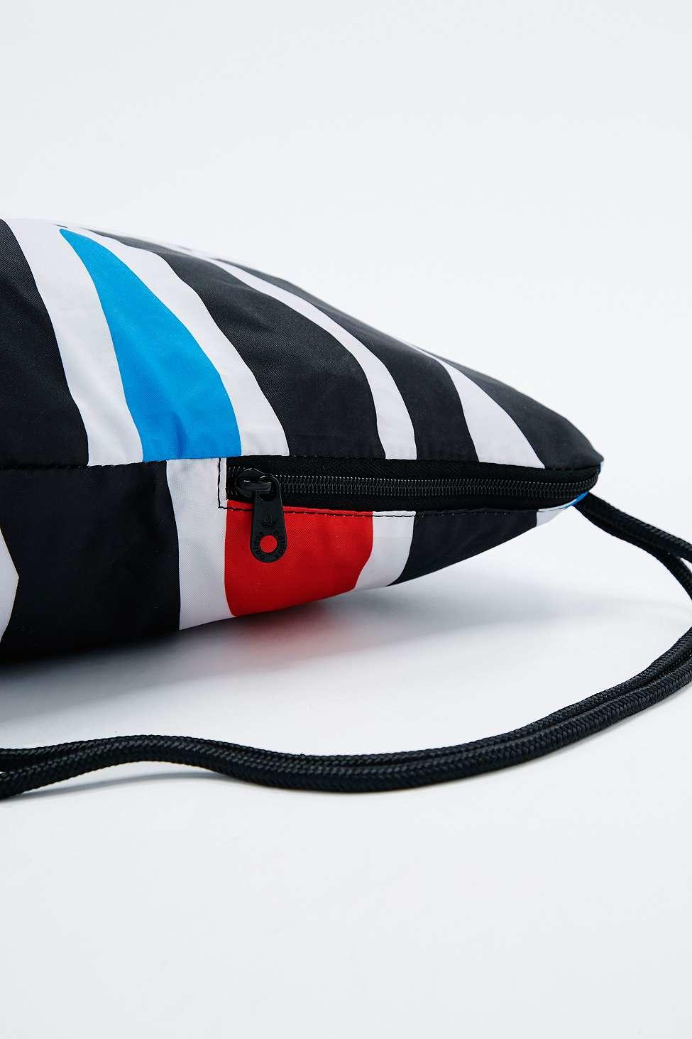 ea2bb1c5d0c1 adidas Originals Zebra Print Drawstring Gymsack for Men - Lyst