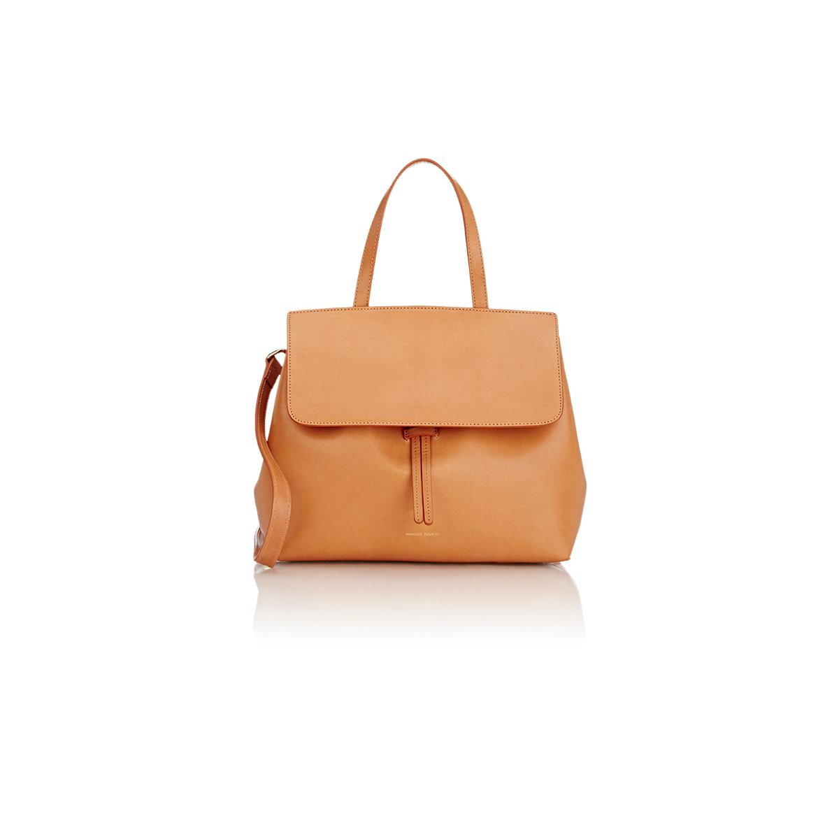 Burgundy Suede Mini Lady Bag Mansur Gavriel W9hlk