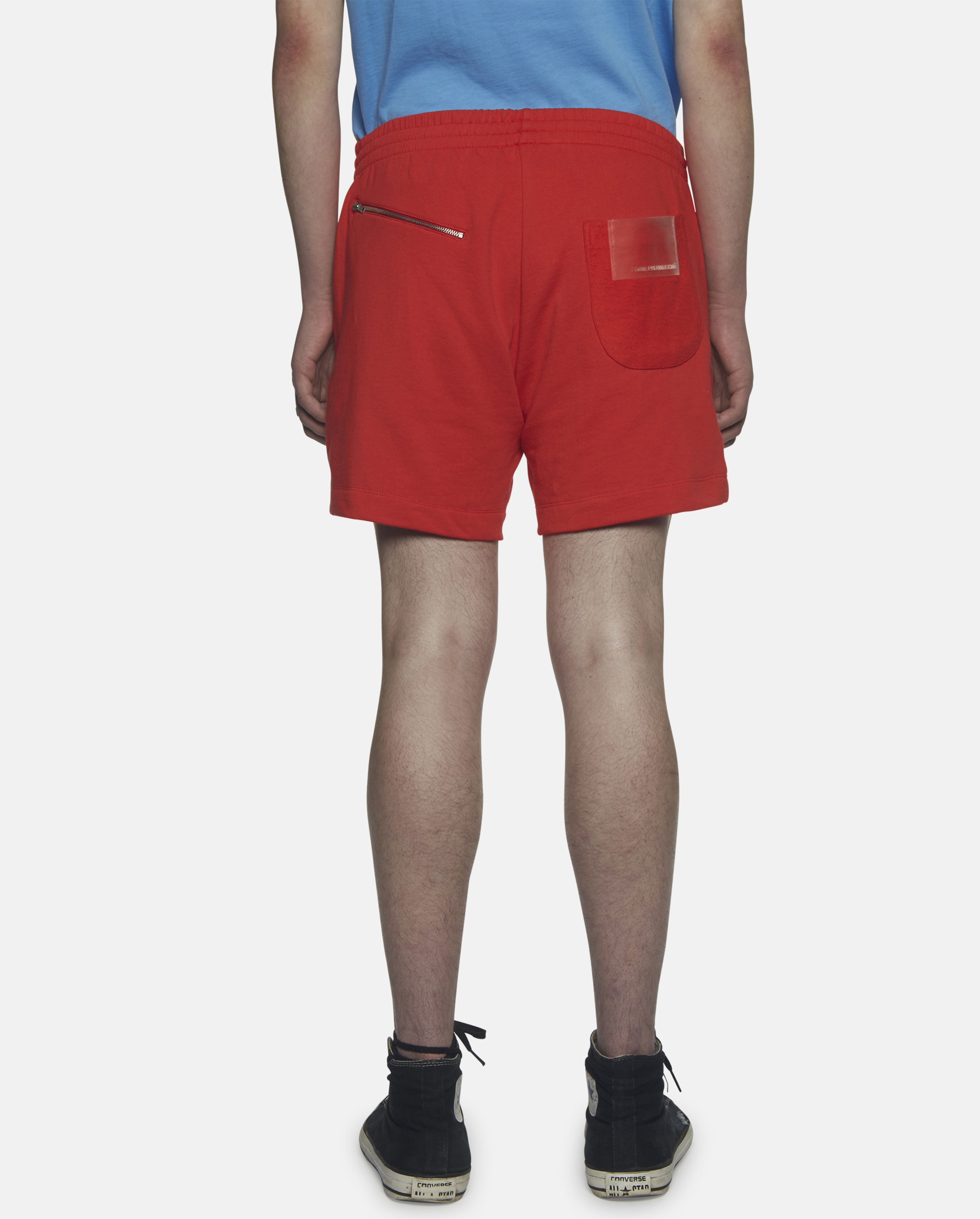 Gosha rubchinskiy Red Cotton-jersey Shorts in Orange | Lyst