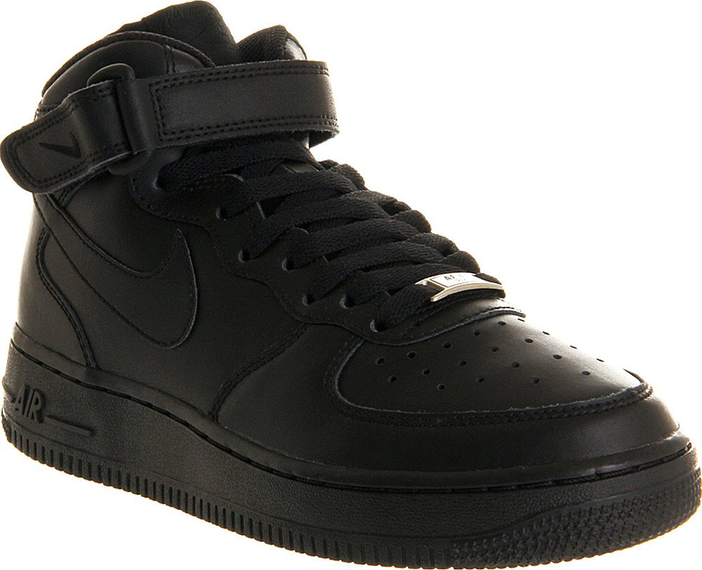 nike 39 air force 1 39 07 39 sneakers in black for men lyst. Black Bedroom Furniture Sets. Home Design Ideas