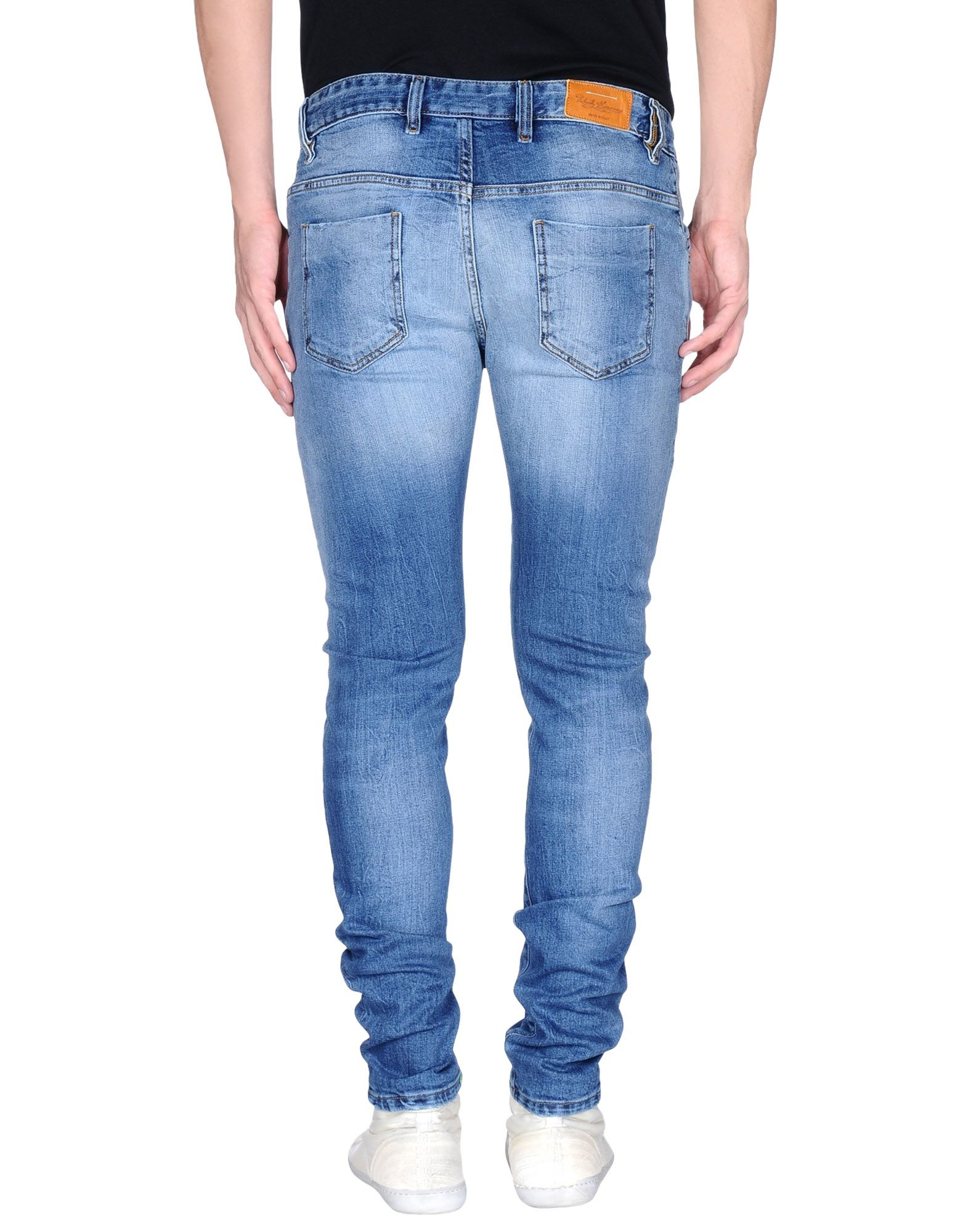 Lyst - Takeshy Kurosawa Denim Trousers in Blue for Men