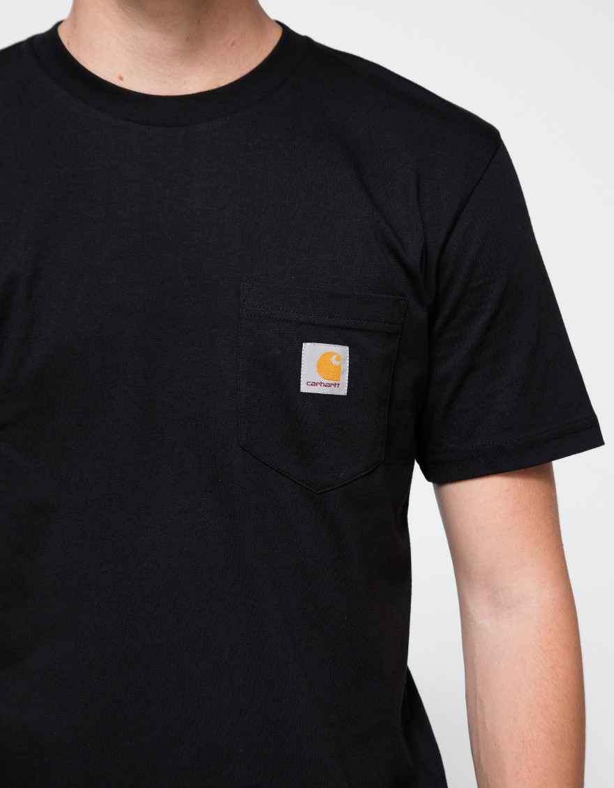 Black t shirt with pocket - Gallery