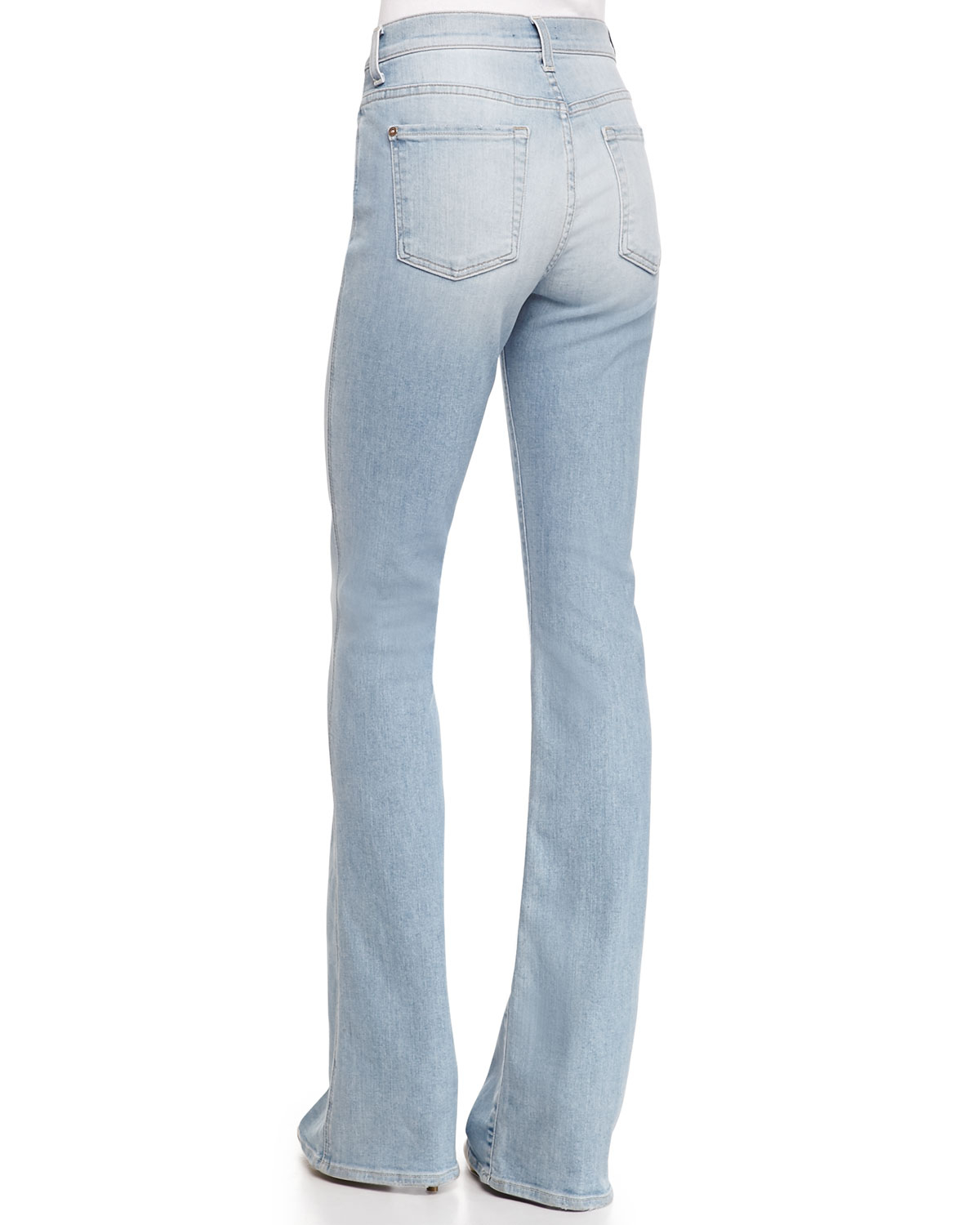 High Waisted Bootcut Jeans For Women - Jeans Am