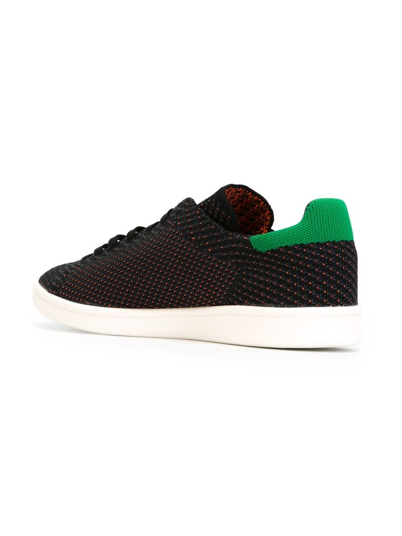 Lyst Adidas Stan Smith Sneakers In Black For Men