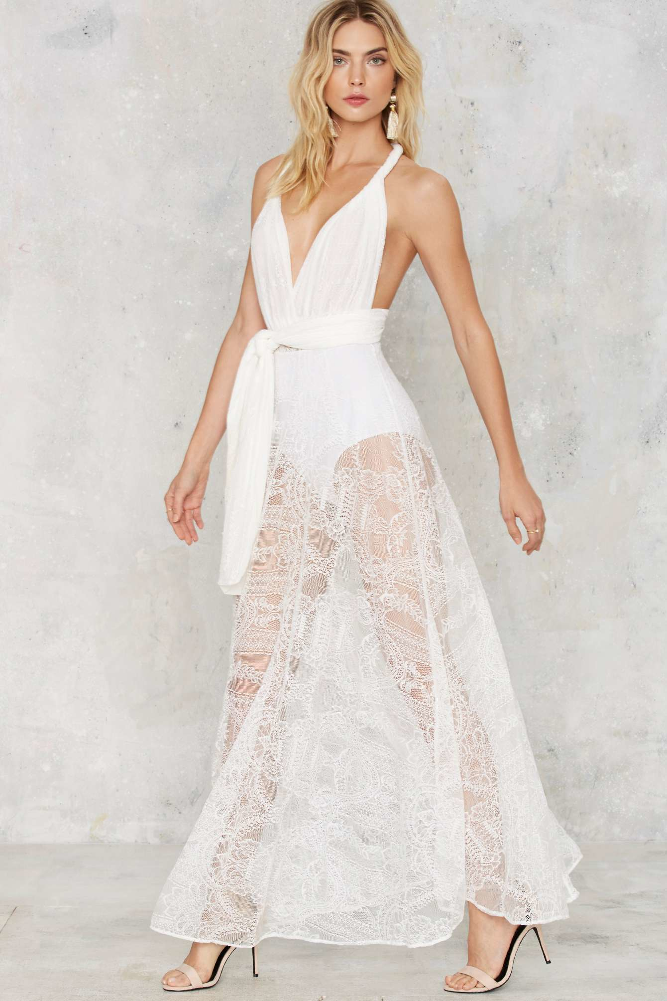 Gallery Women S White Lace Dresses