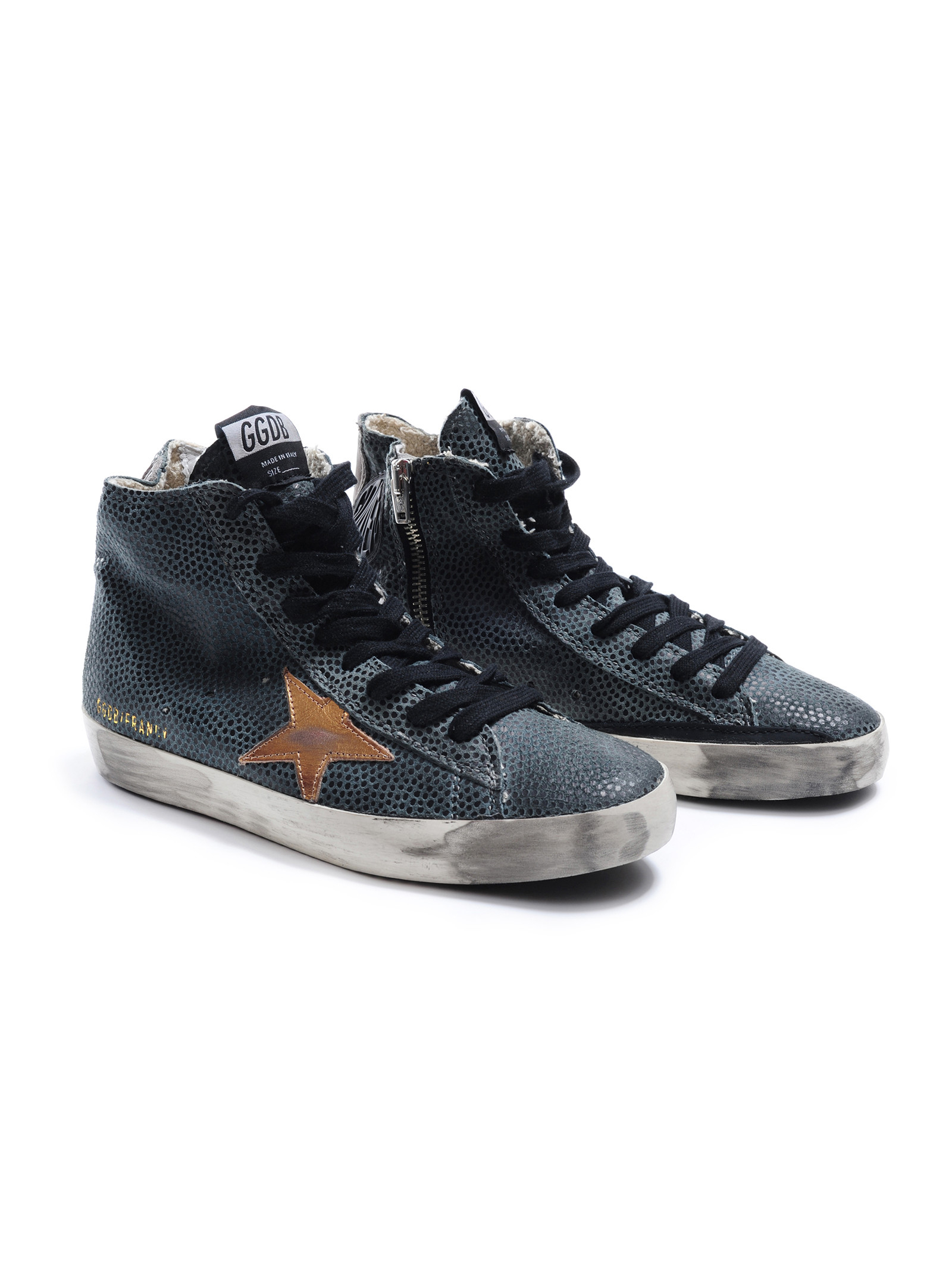 golden goose deluxe brand sneakers francy in blue lyst. Black Bedroom Furniture Sets. Home Design Ideas