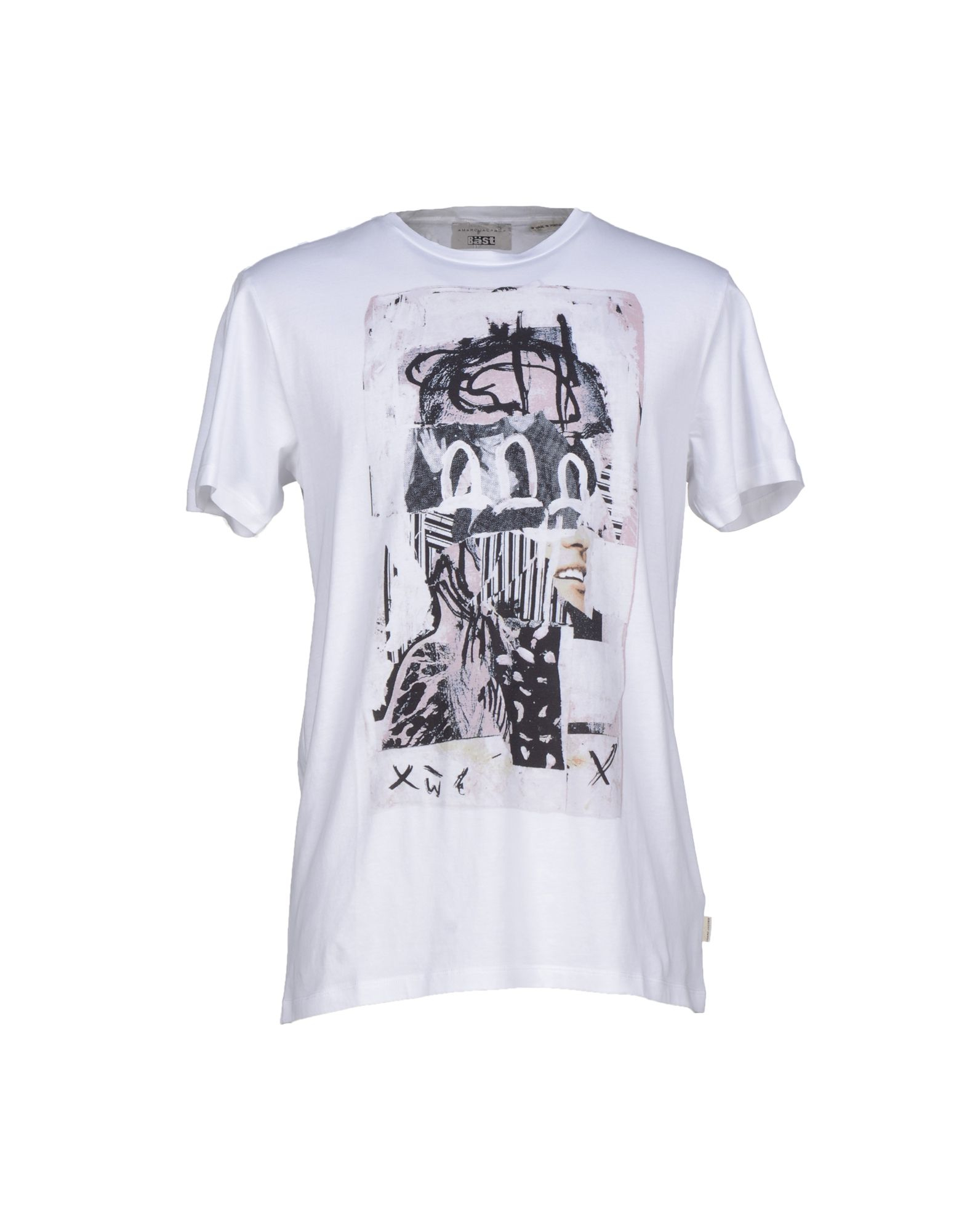 Marc jacobs T-shirt in White for Men | Lyst