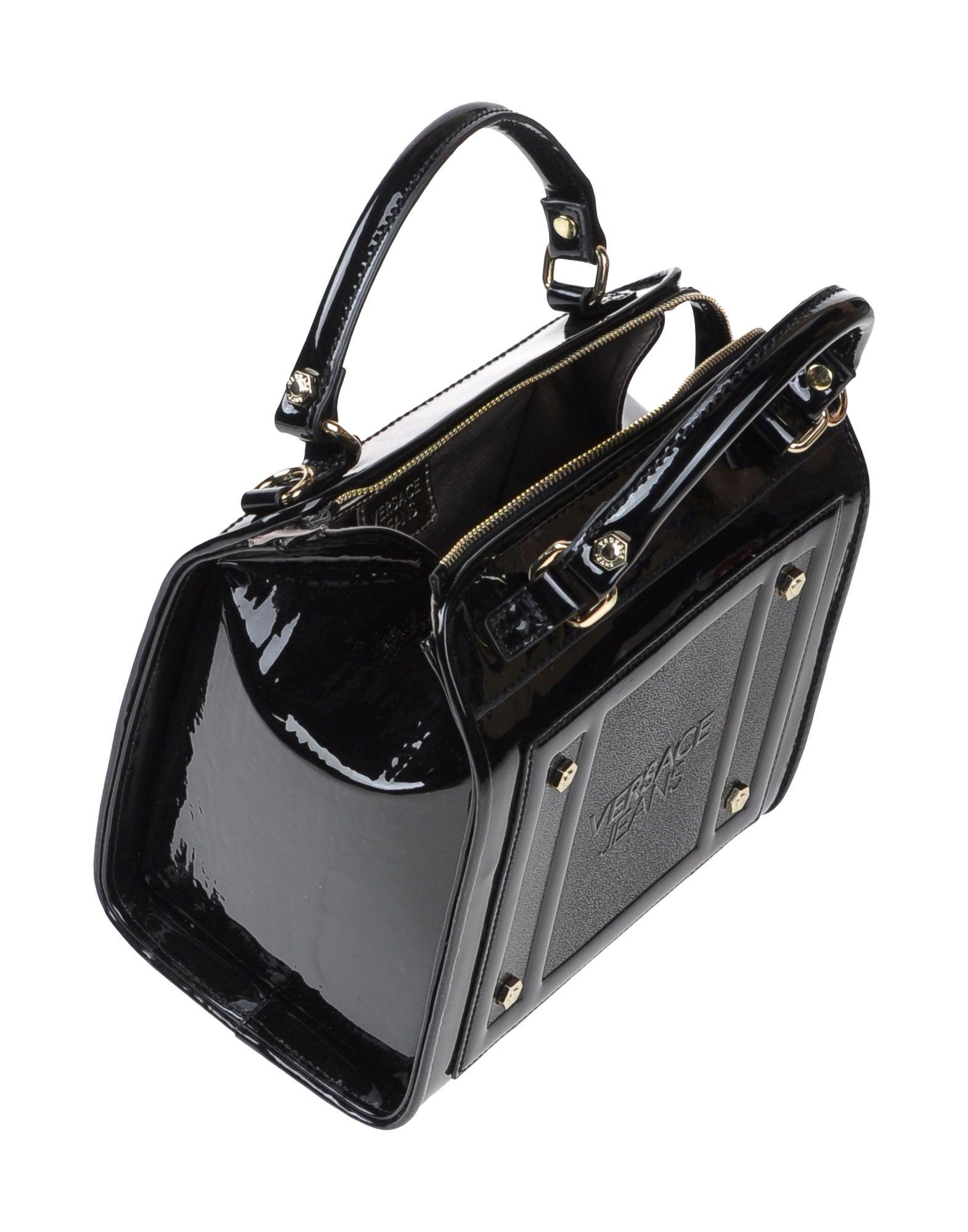 Lyst - Versace Jeans Handbag in Black bf9002dd82d83