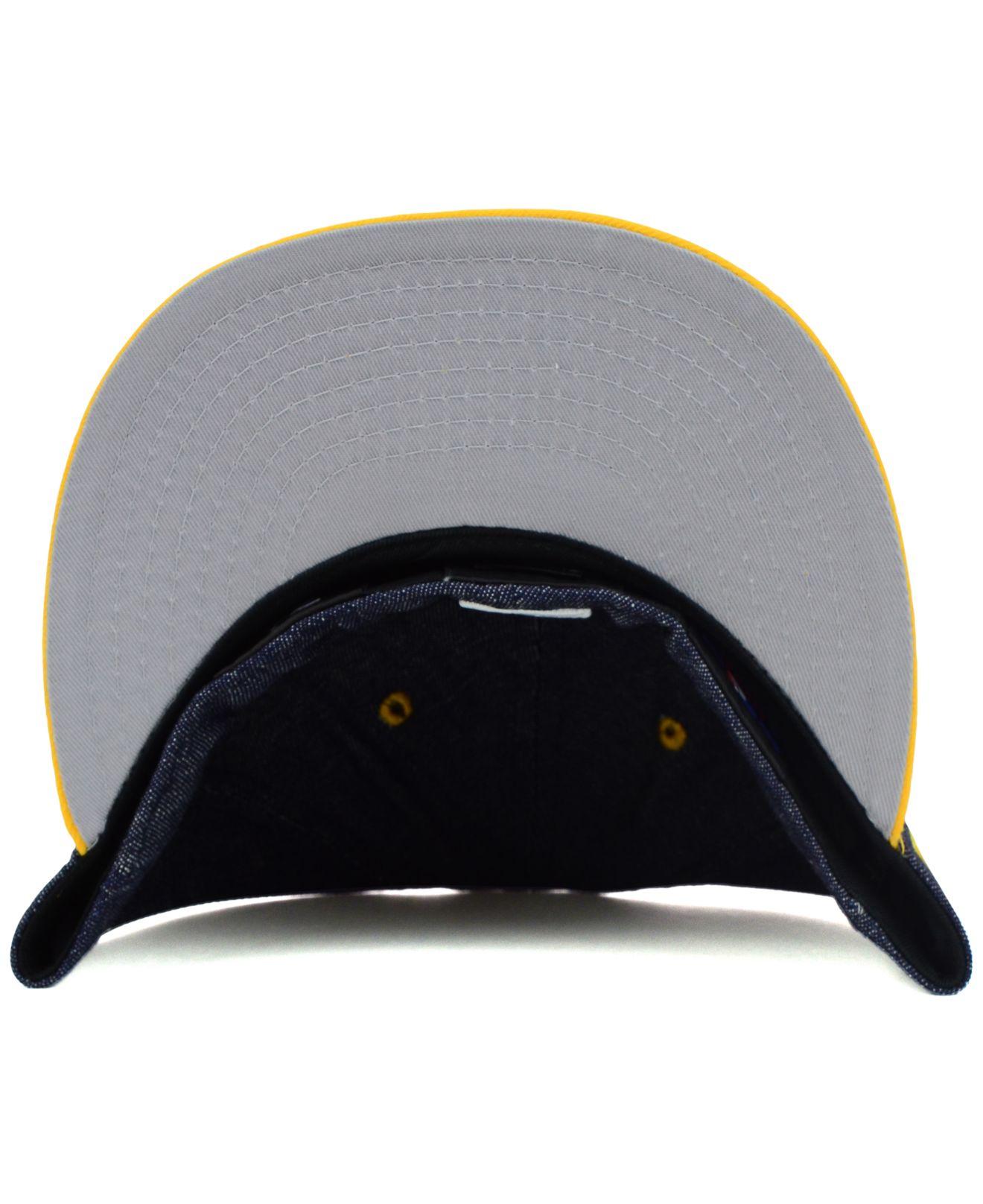 wholesale dealer 3f4d3 935db Lyst - KTZ Pittsburgh Pirates Mlb Team Color Denim 59fifty Cap in ...