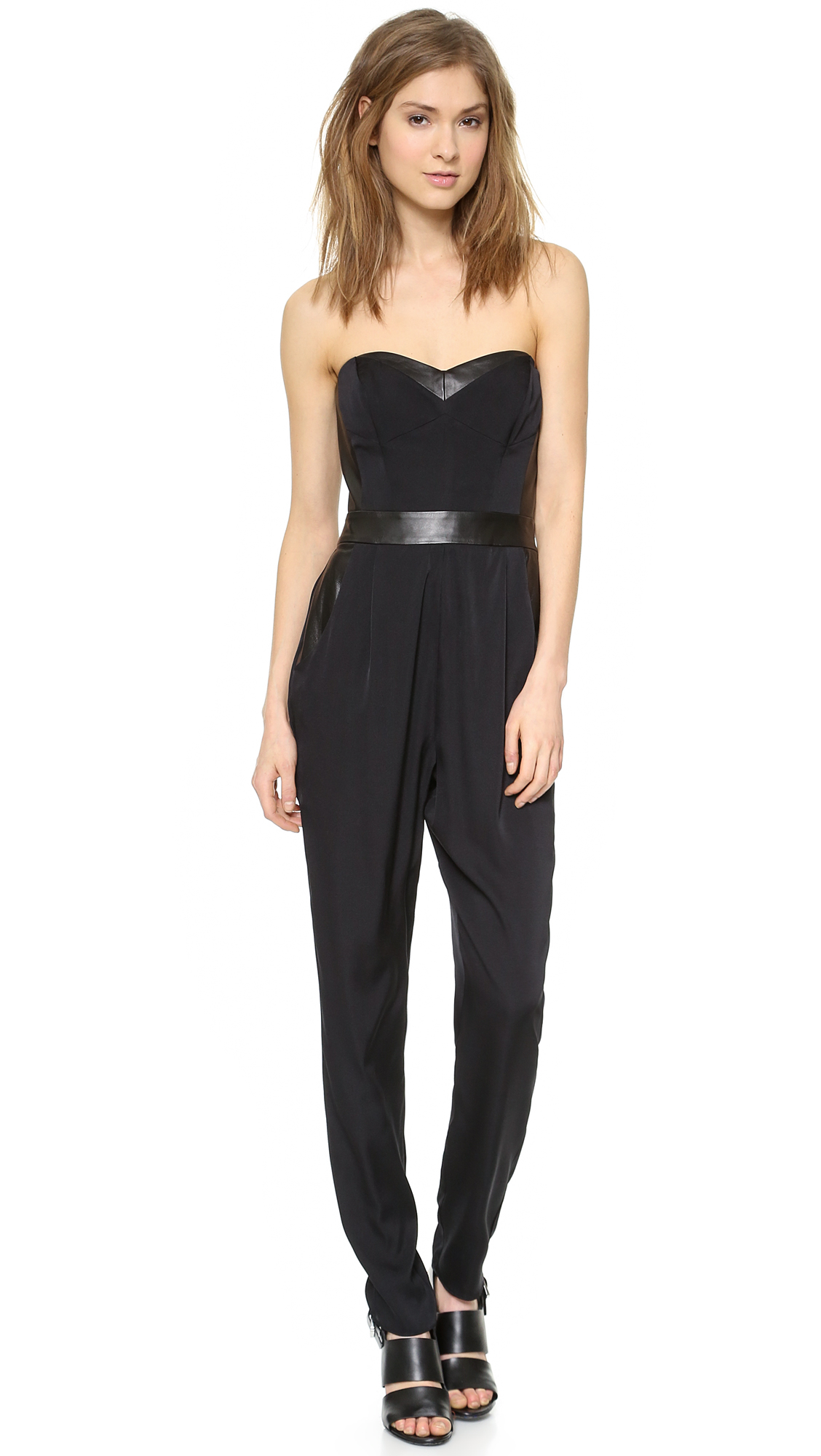 274a7ae74a99 Gallery. Previously sold at  Shopbop · Women s Black Jumpsuits ...