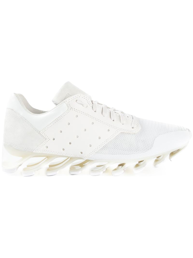 69377d4b641e Lyst - Rick Owens X Adidas  Spring Blade  Sneakers in White