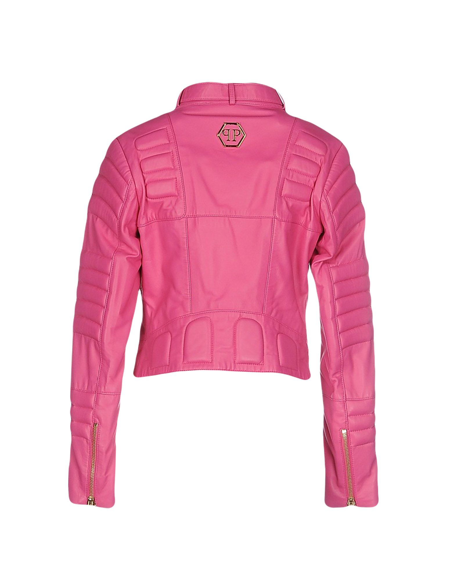 philipp plein jacket in pink lyst. Black Bedroom Furniture Sets. Home Design Ideas