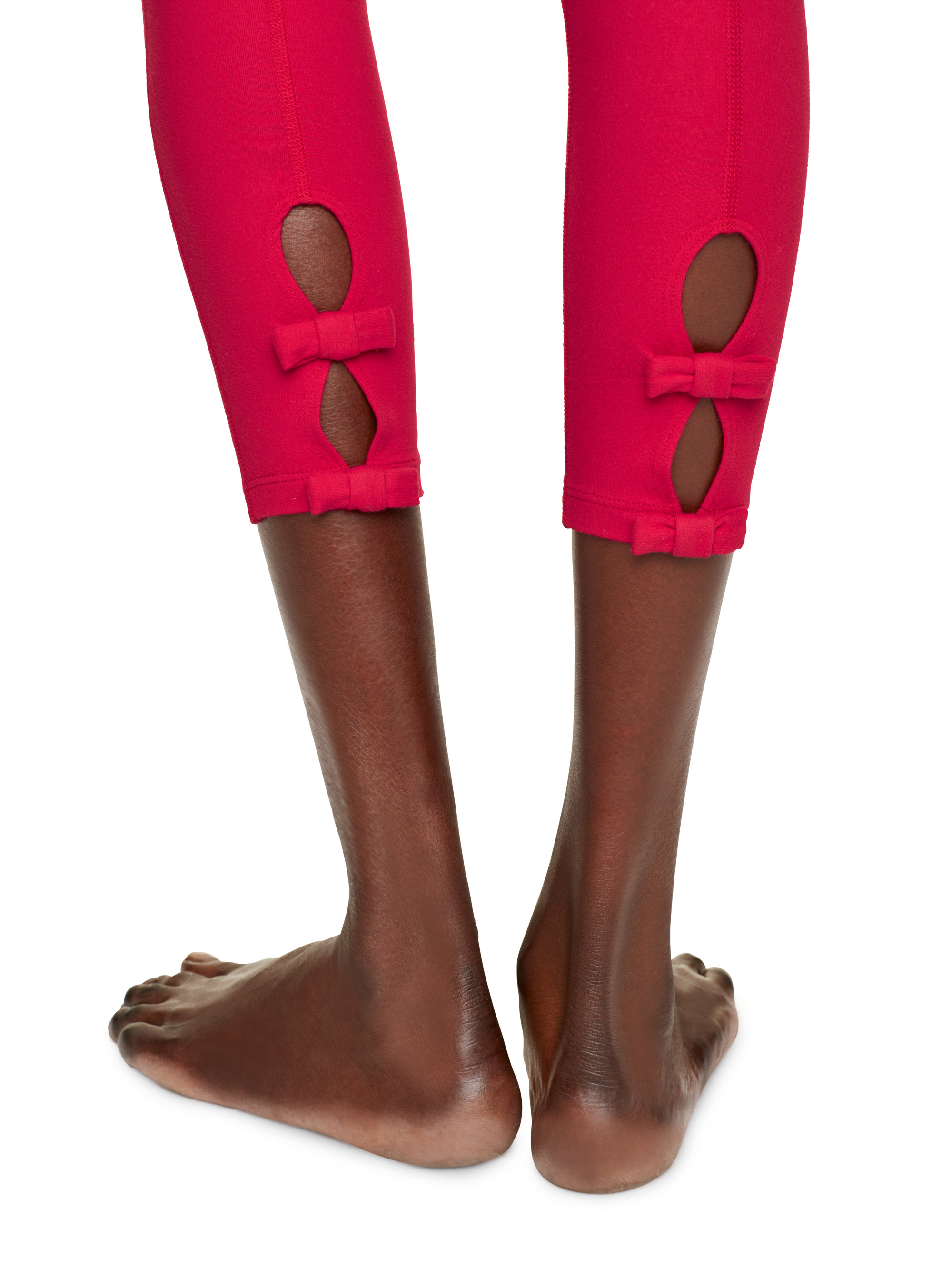 3857b6b895fc5 Kate Spade Back Bow Legging in Red - Lyst