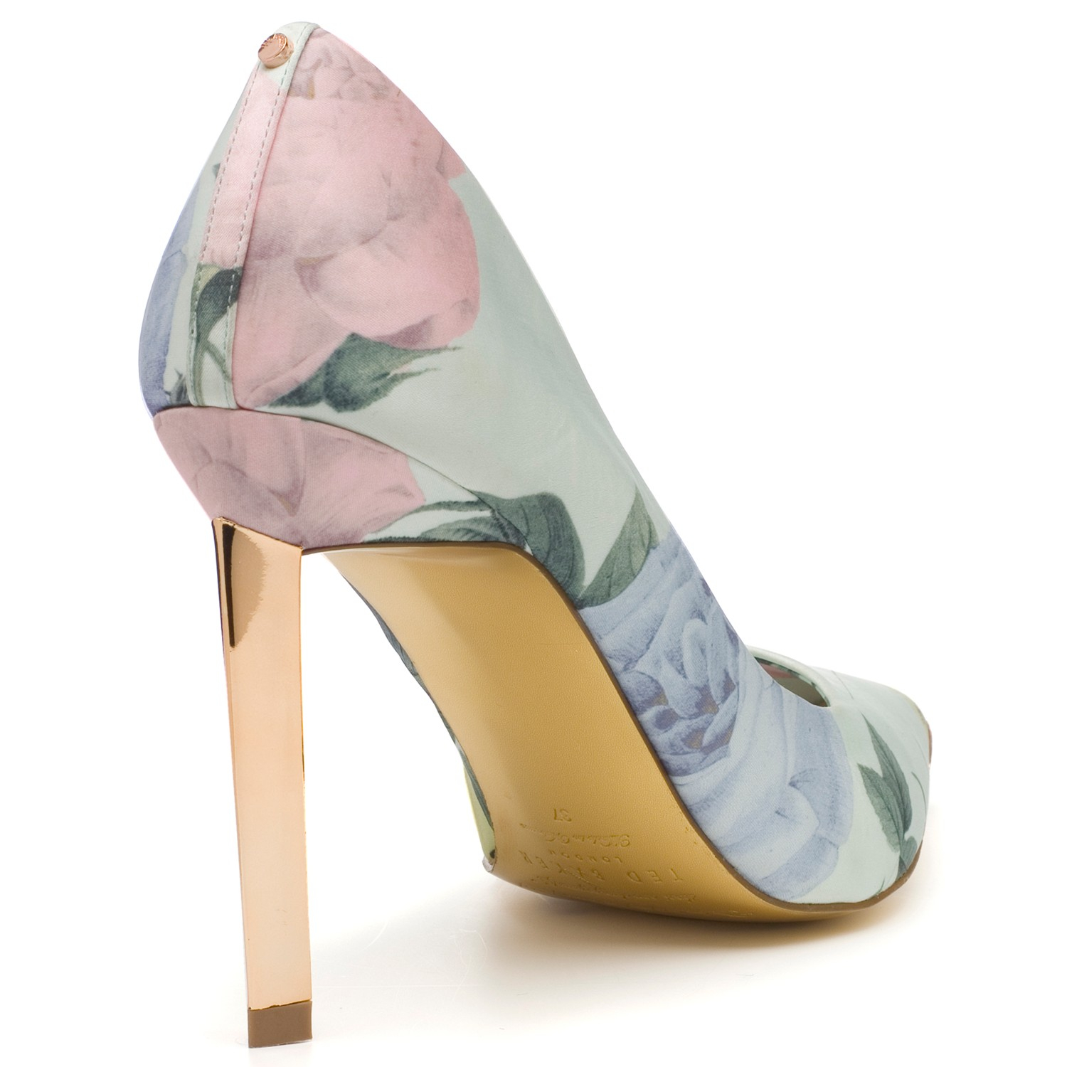 1c921bcd672214 Ted Baker Adecyn High Heeled Stiletto Court Shoes in Green - Lyst