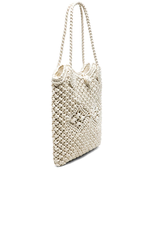 Crochet Bags Uk : ?le by alessandra Vela Crochet Bag in White Lyst