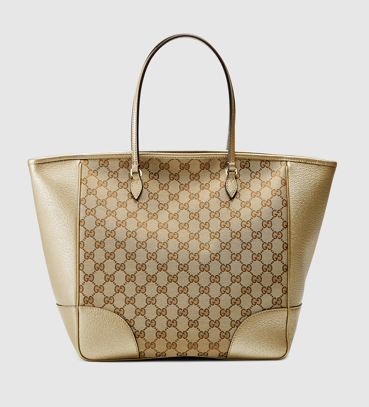 a8dc5d2ebfa Gucci Bree Original Gg Canvas Tote in Natural - Lyst