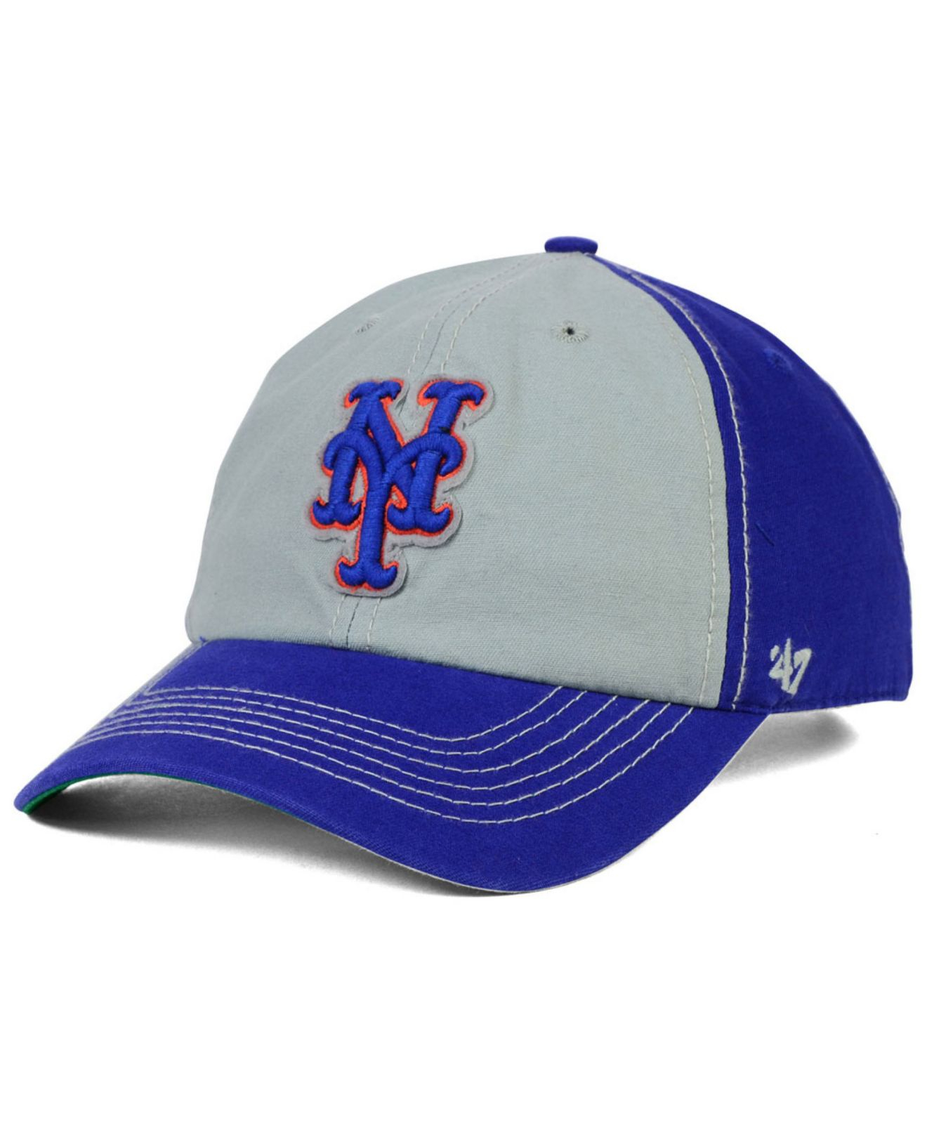 best loved 3bbe8 68a5b ... aliexpress lyst 47 brand new york mets adjustable clean up cap in blue  for men a5a03