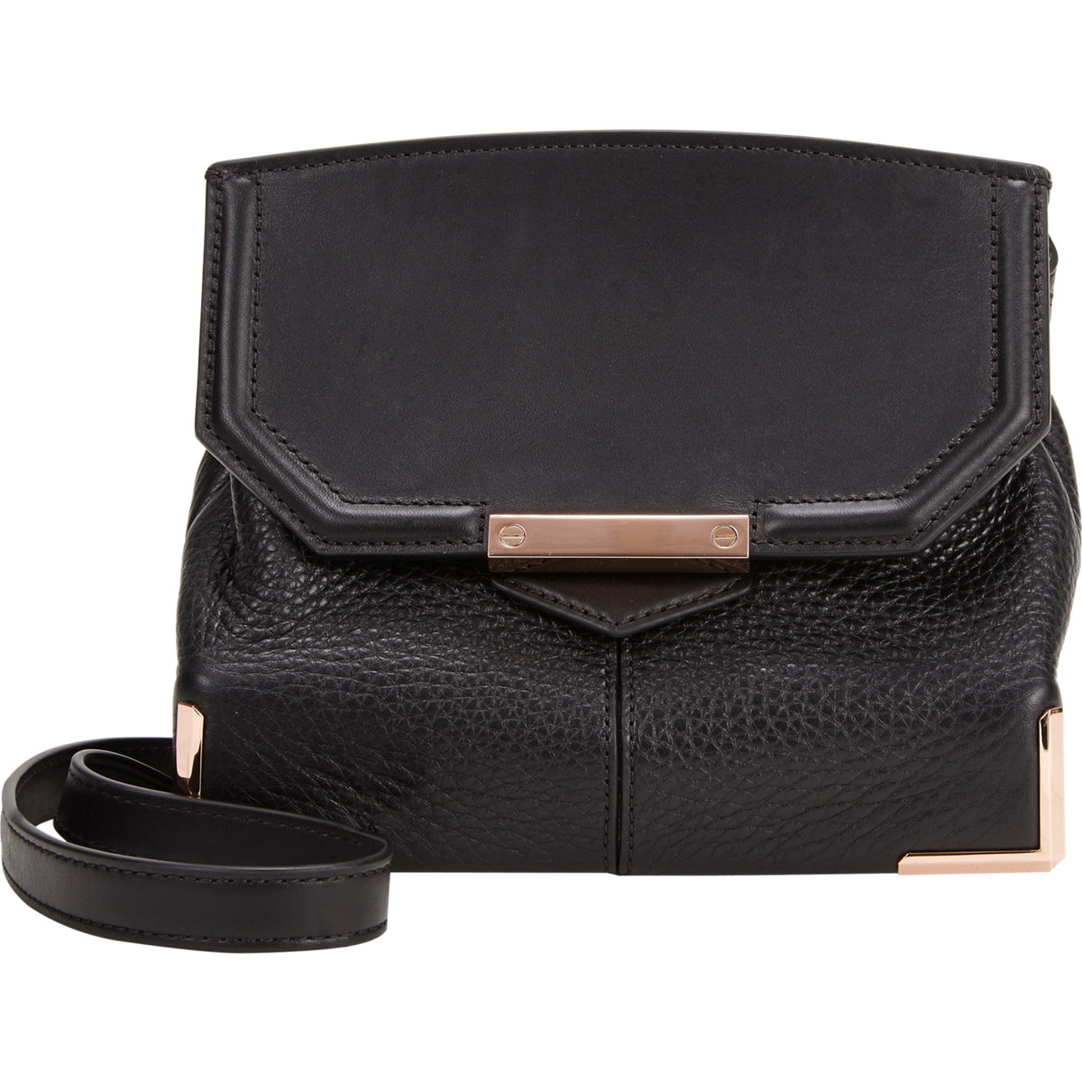 9520537df021a Lyst - Alexander Wang Marion Mini Sling Bag in Black