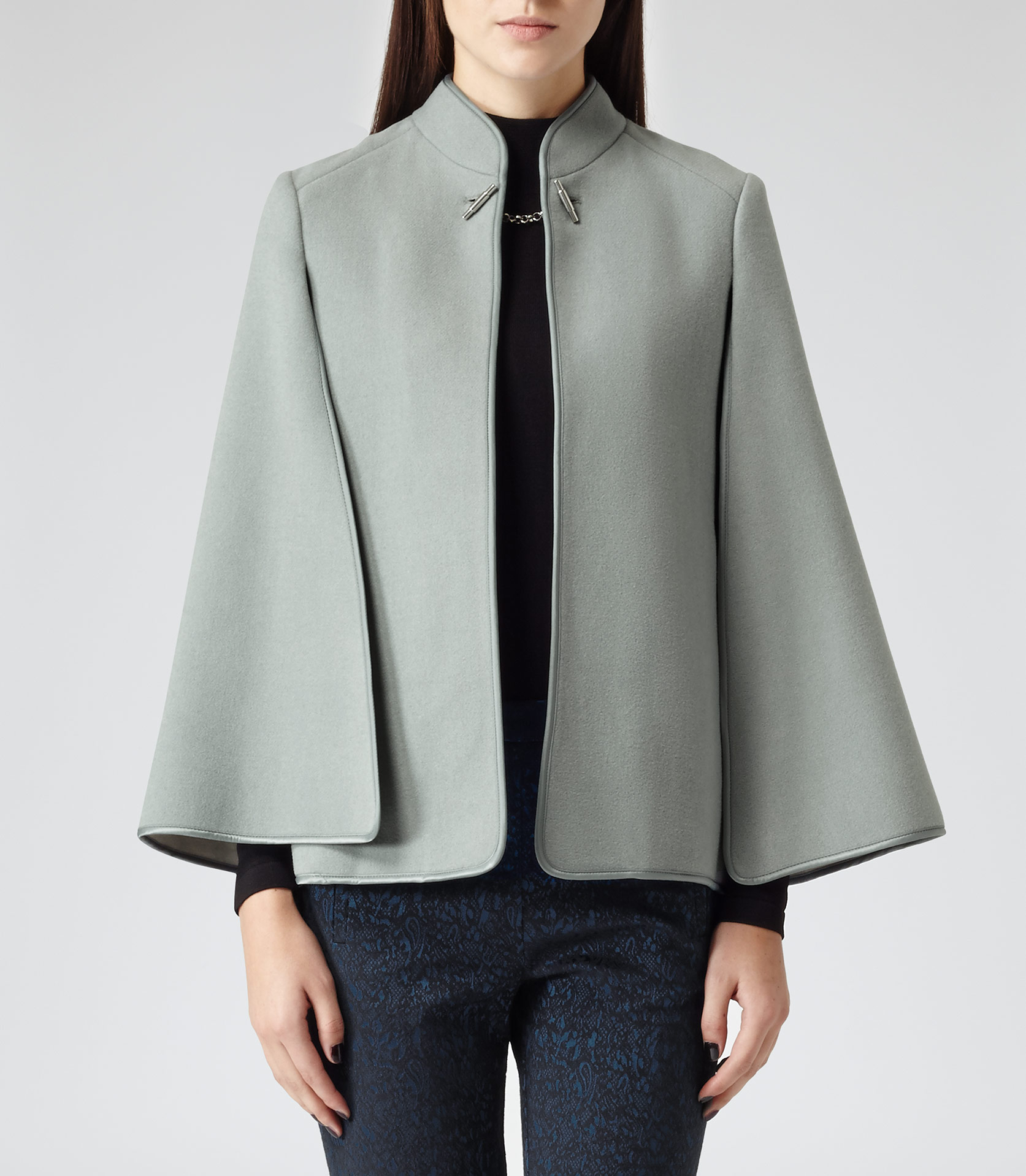 Green with envy womens cape jacket
