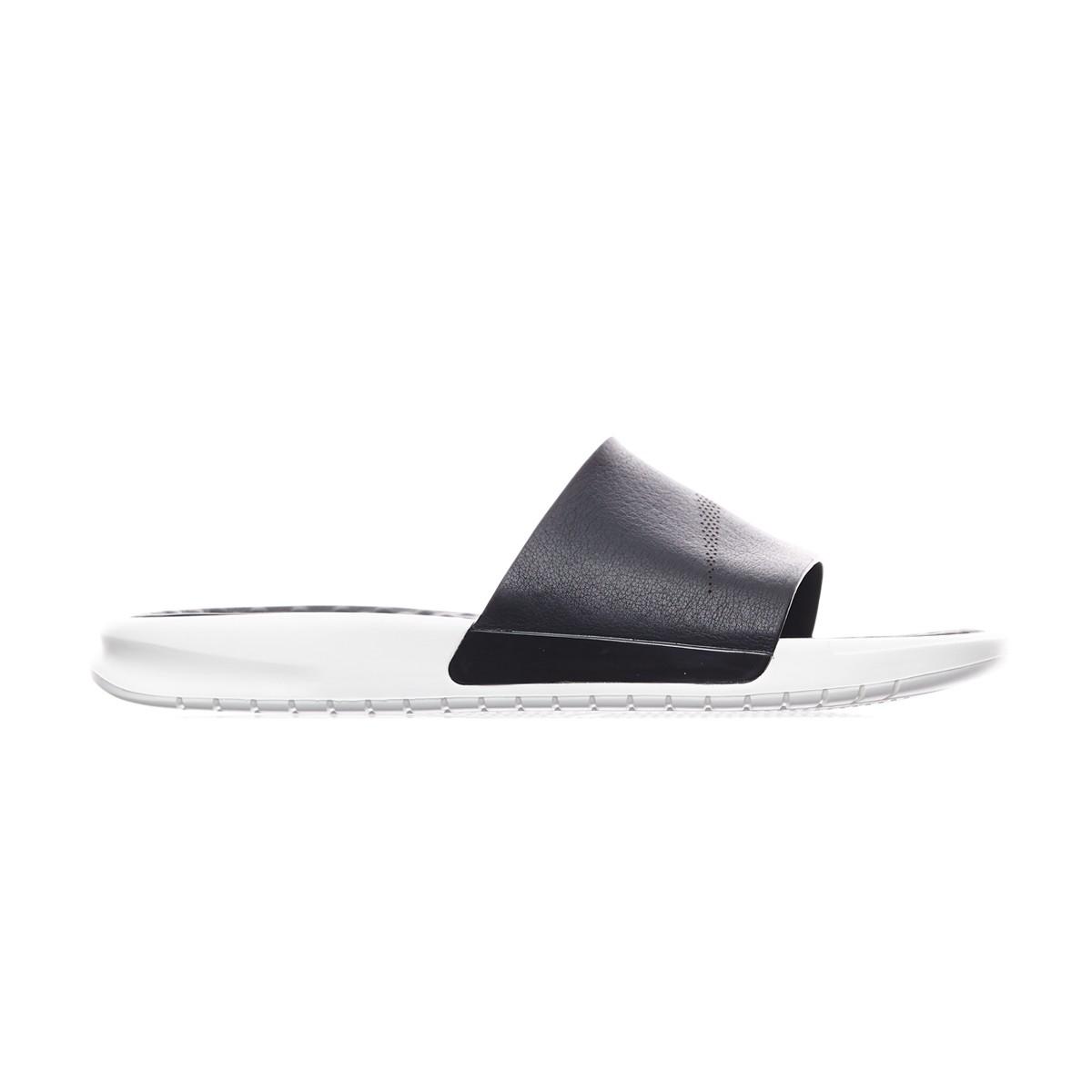8a8ac29a1 Lyst - Nike Benassi Lux Slides Qs in Black for Men