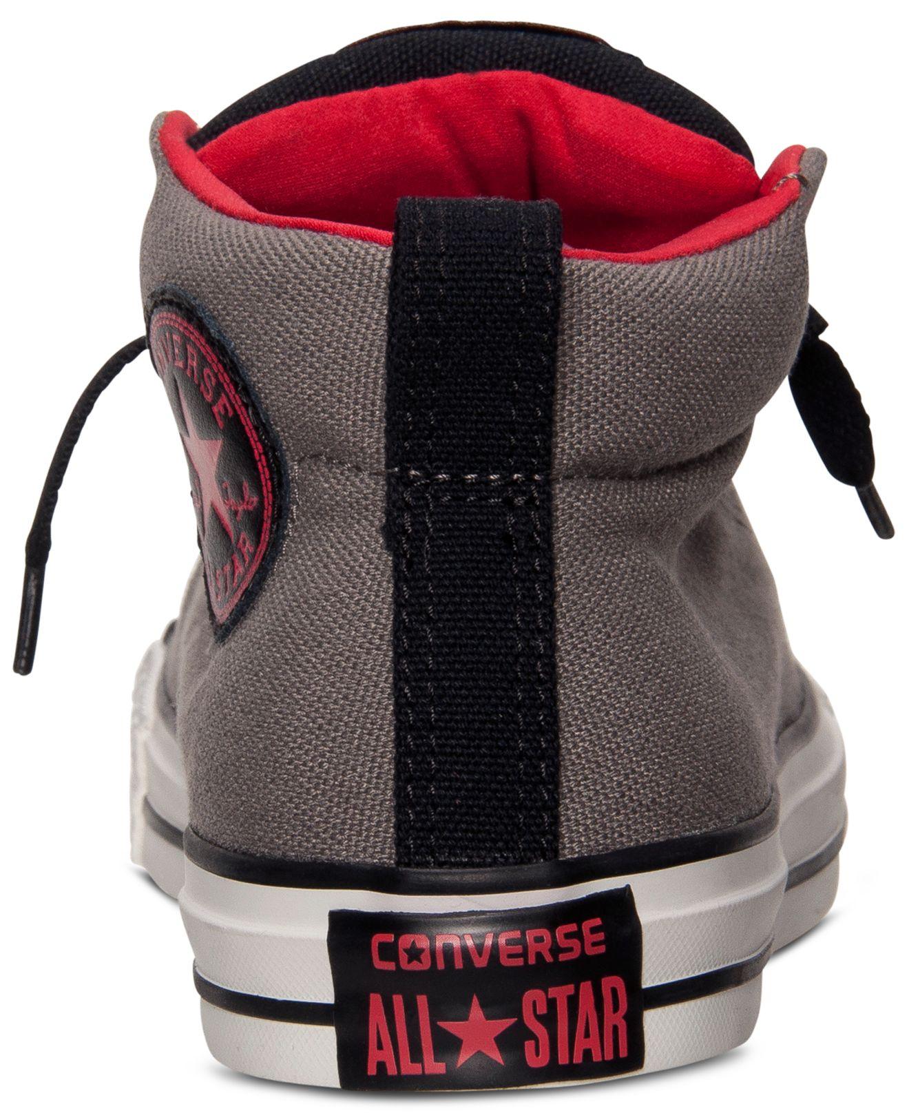 a05557900fb38b ... Lyst - Converse MenS Chuck Taylor Street Mid Casual Sneakers best cheap  f9708 72fd1  Chuck Taylor All Star ...