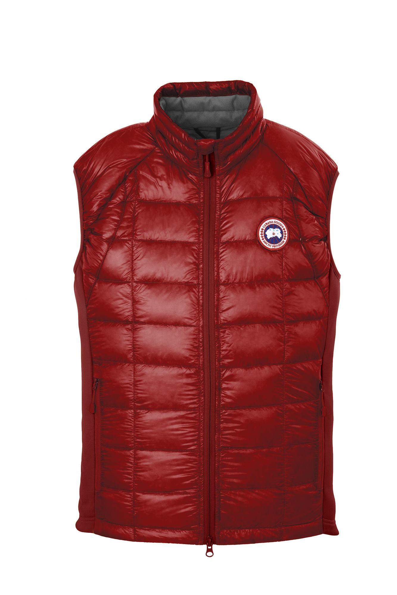 Canada Goose' Hybridge Lite Vest - Men's Small - Black / Red