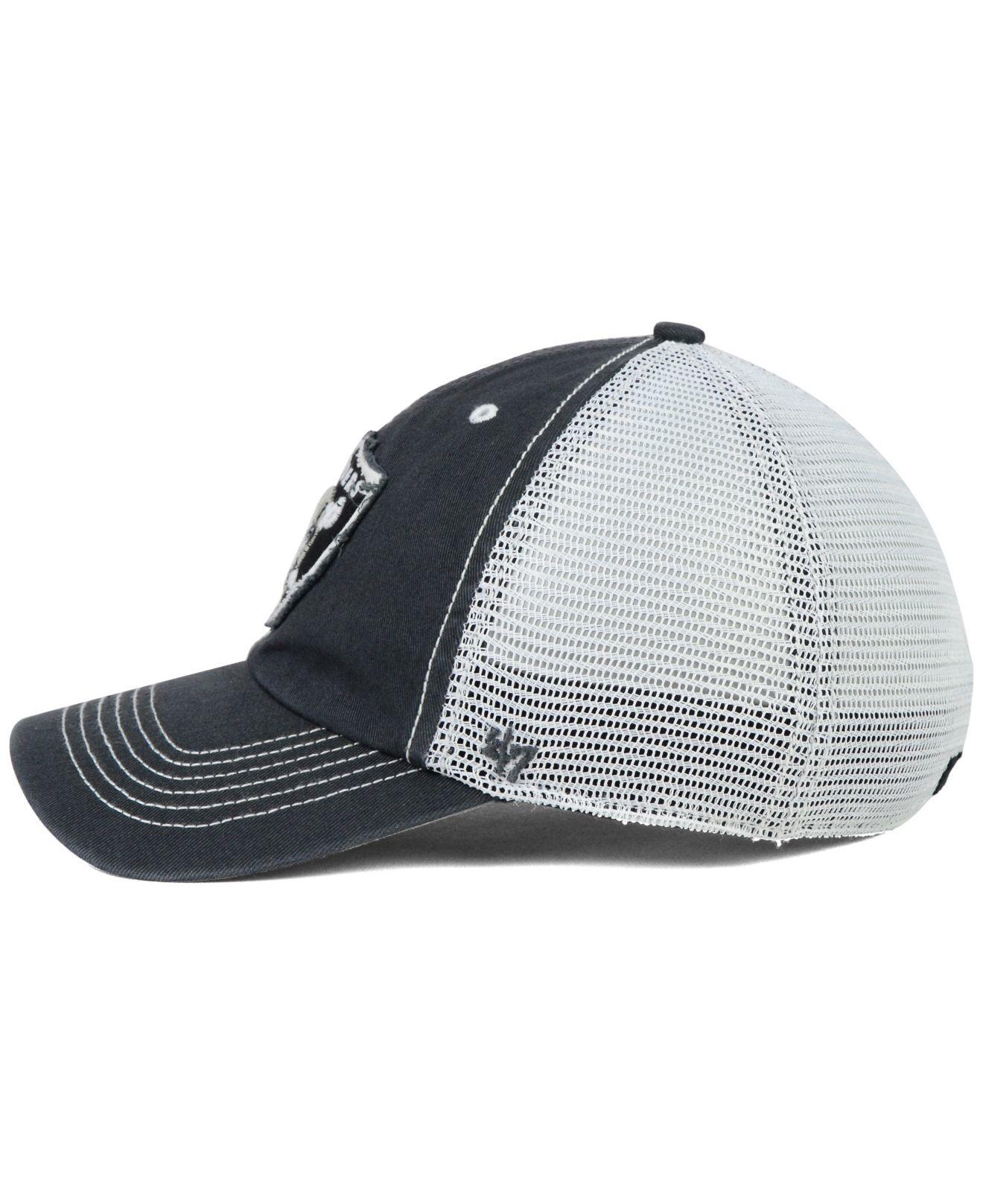 top quality oakland raiders 47 brand hat 38384 cc1fb