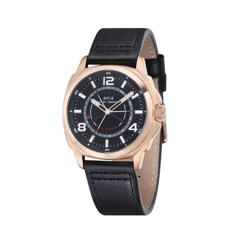 avi8 curtiss tamahawk watch in black lyst