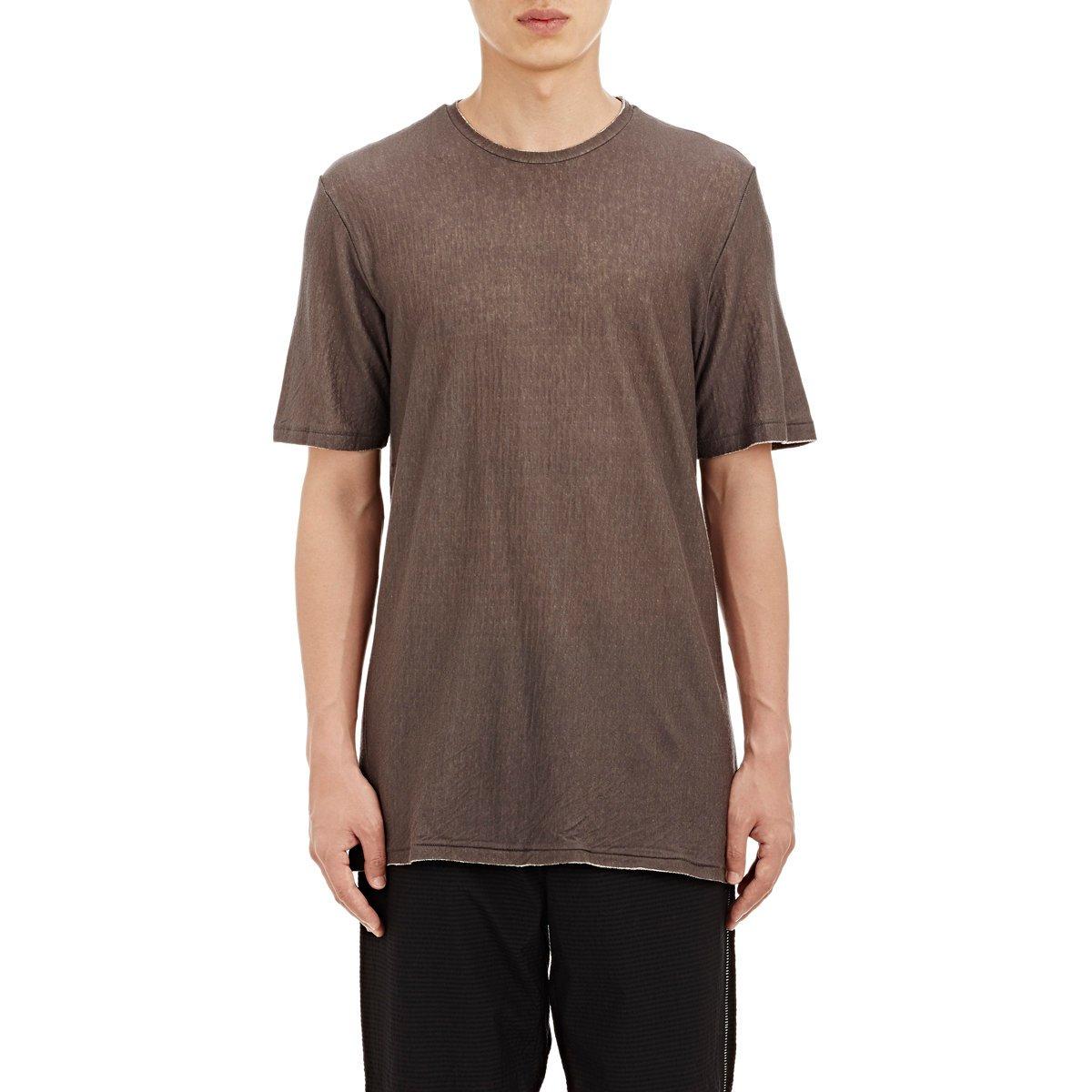 Rag bone rigby t shirt in gray for men lyst for Rag bone shirt