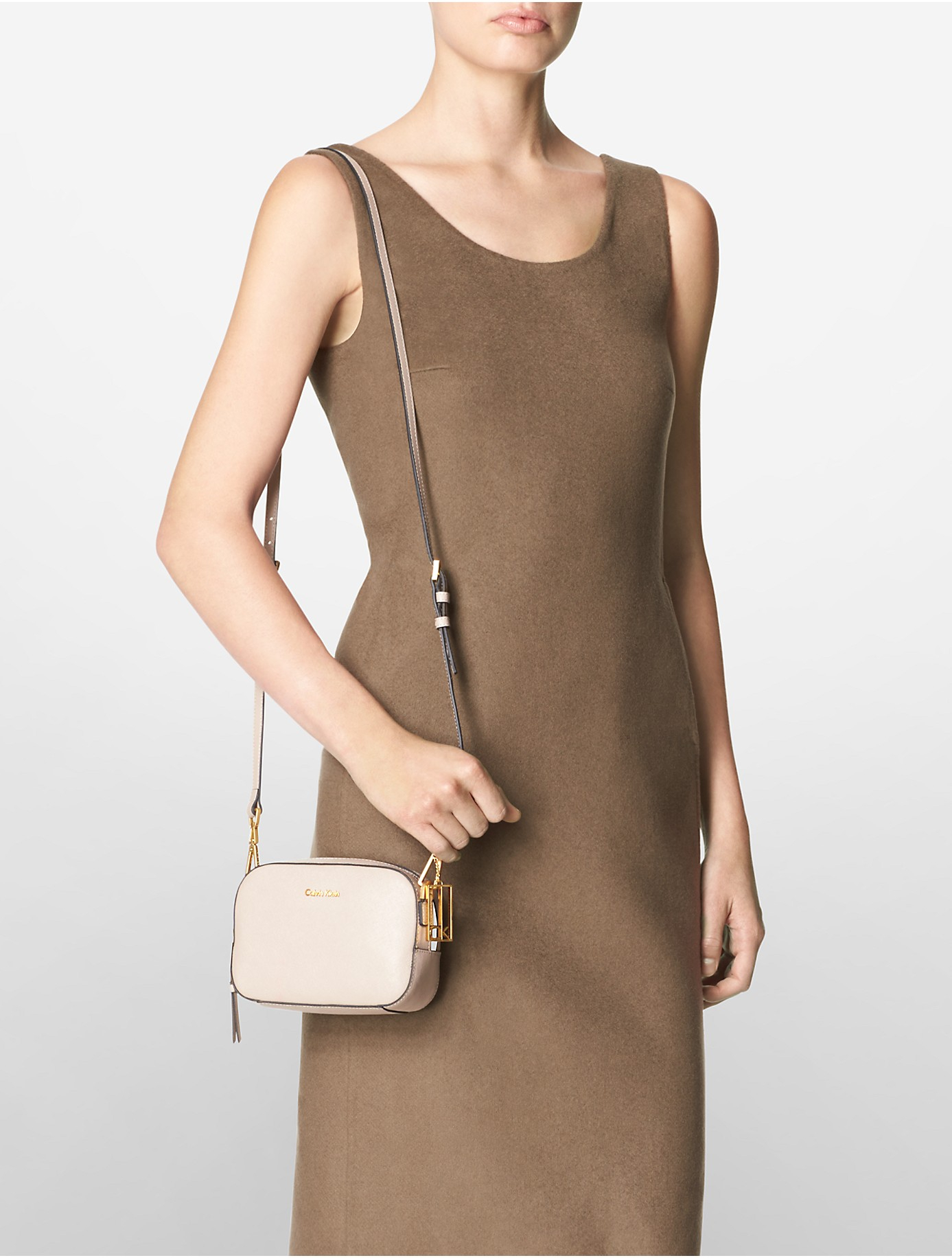 Womens City Leather Camera Bag Prada GI183s