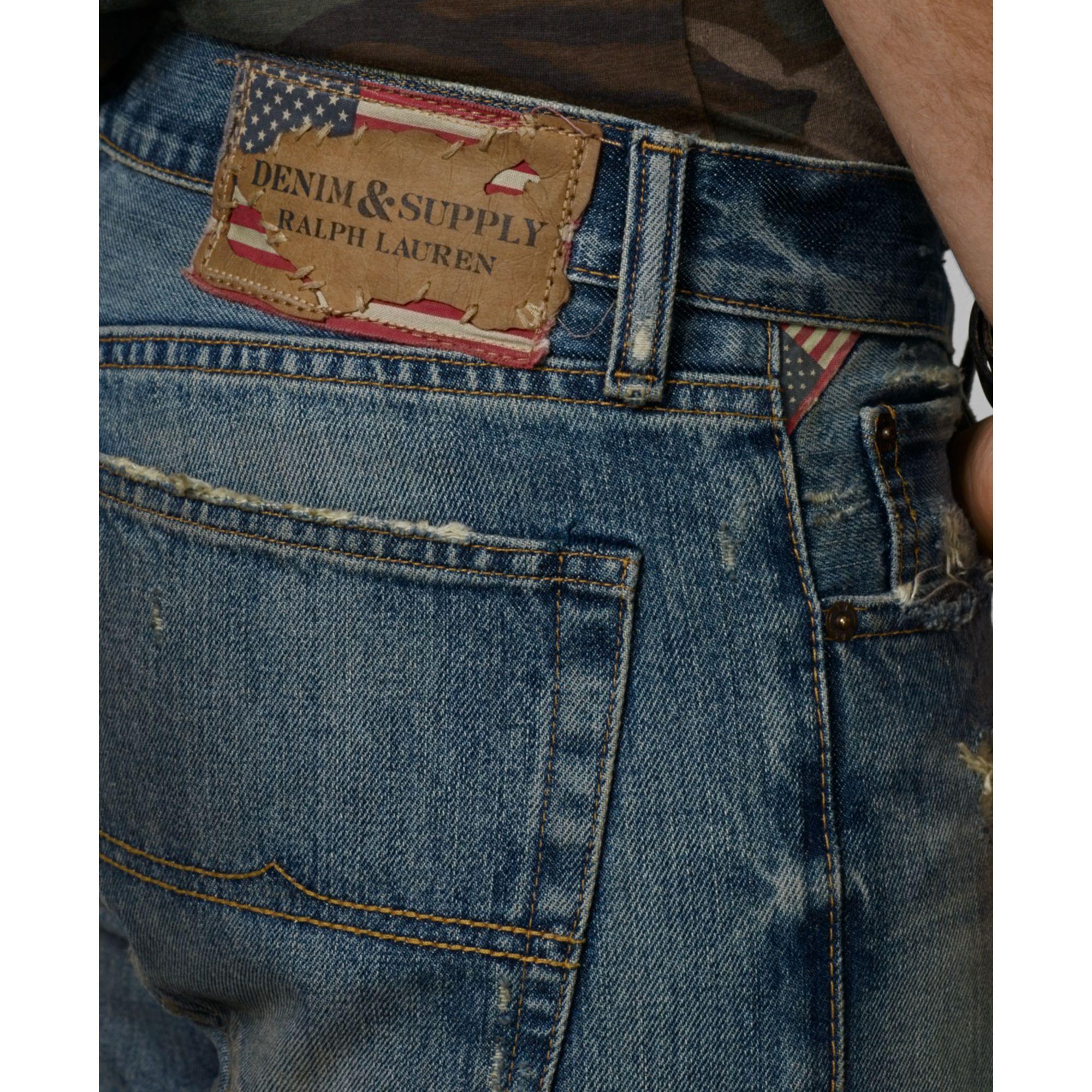 902045779 Denim   Supply Ralph Lauren Slouch Fit Astoria Jeans in Blue for Men ...