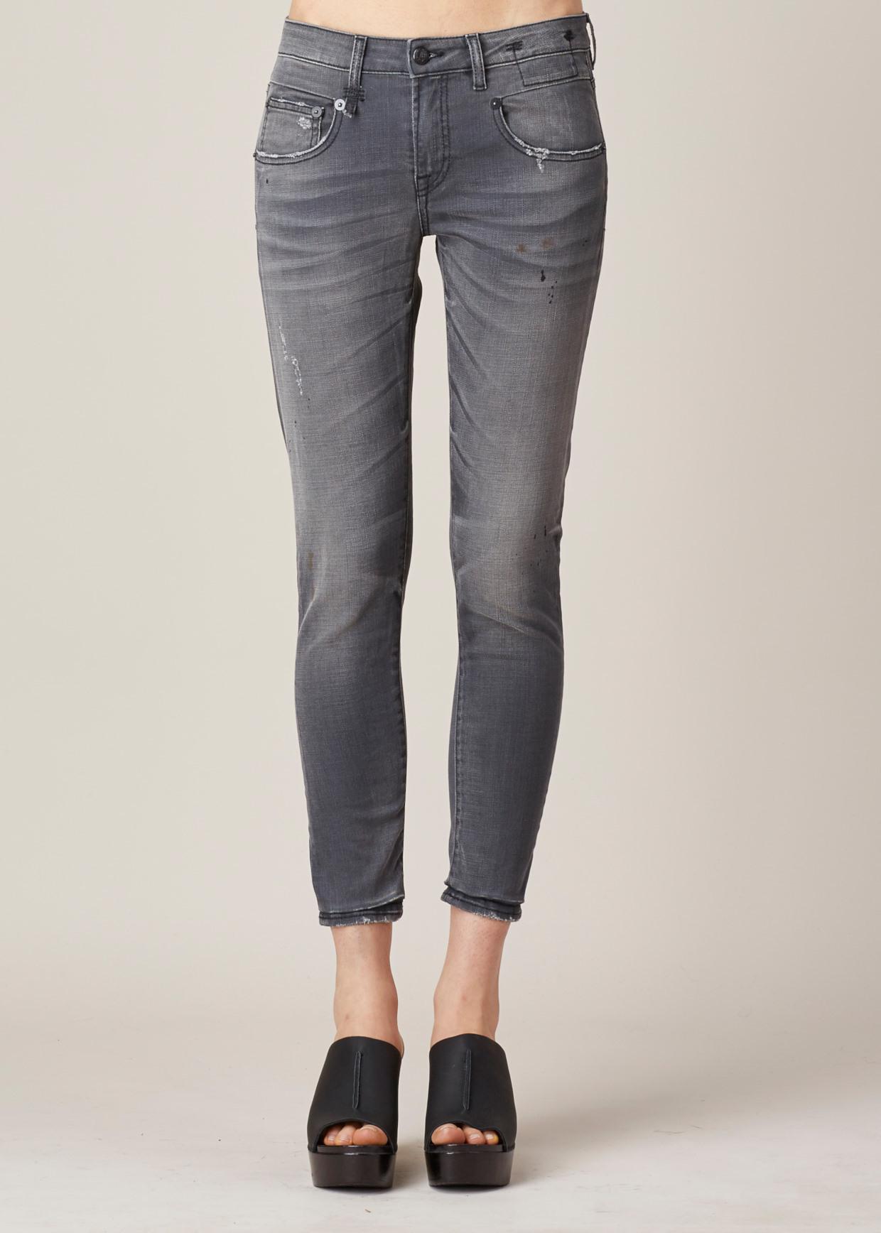Skinny Jeans Boy Grey Orion R13 ZUddj