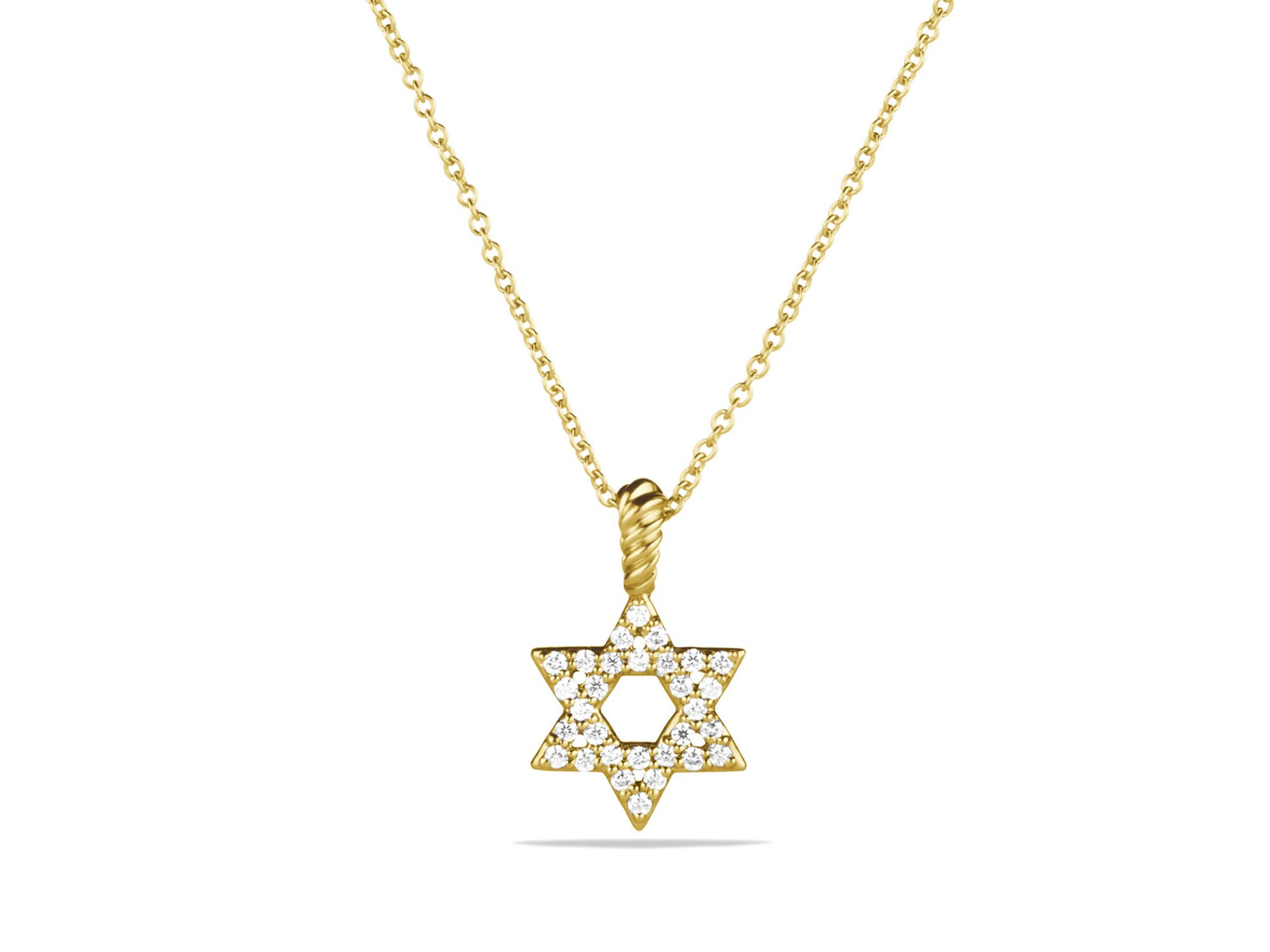 0f0315de5ad3 David Yurman Cable Collectibles Star Of David Necklace With Diamonds ...