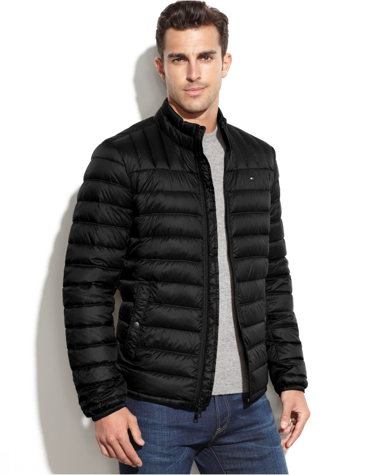 Lyst Tommy Hilfiger Quilted Packable Down Puffer In