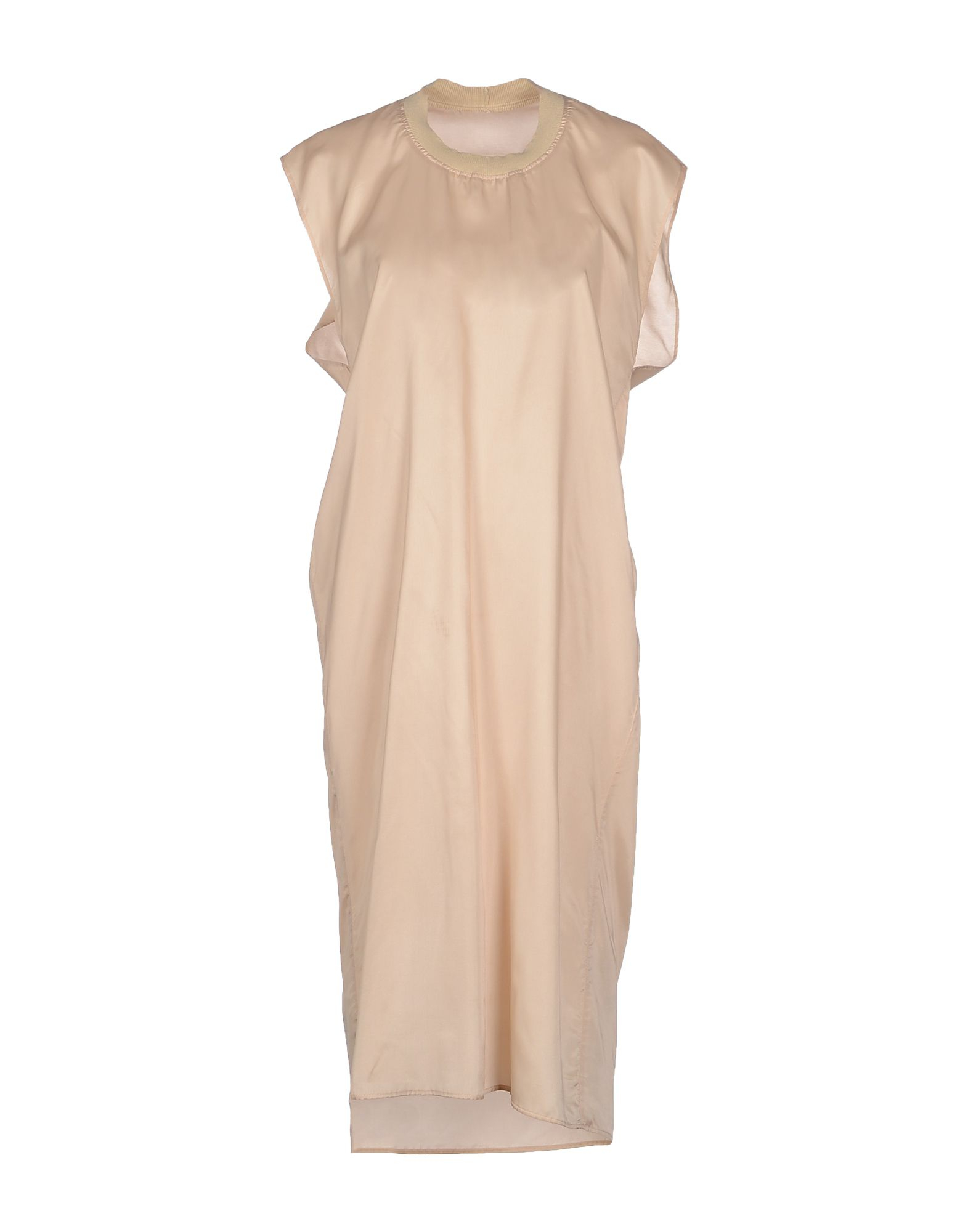 Mm6 by maison martin margiela knee length dress in beige for Mm6 maison margiela