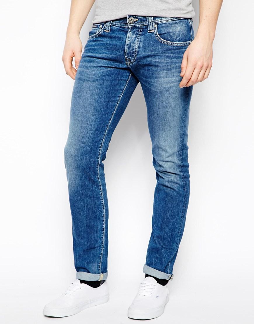 Wrangler Slim Fit Mens Jeans