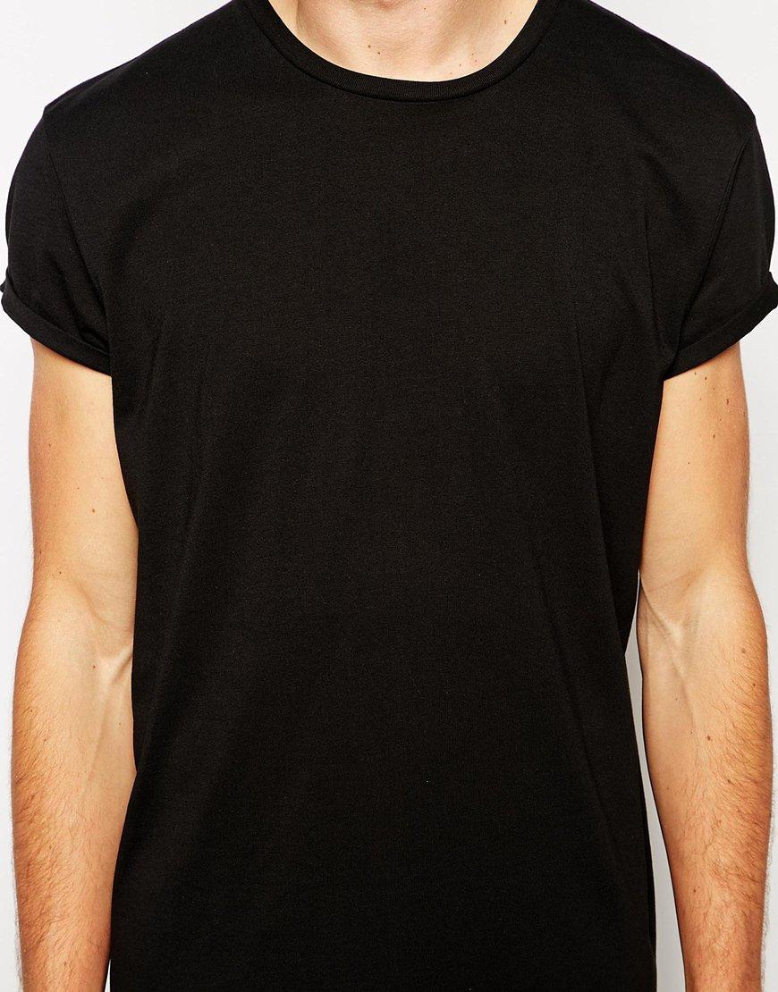 Black t shirt asos - Gallery