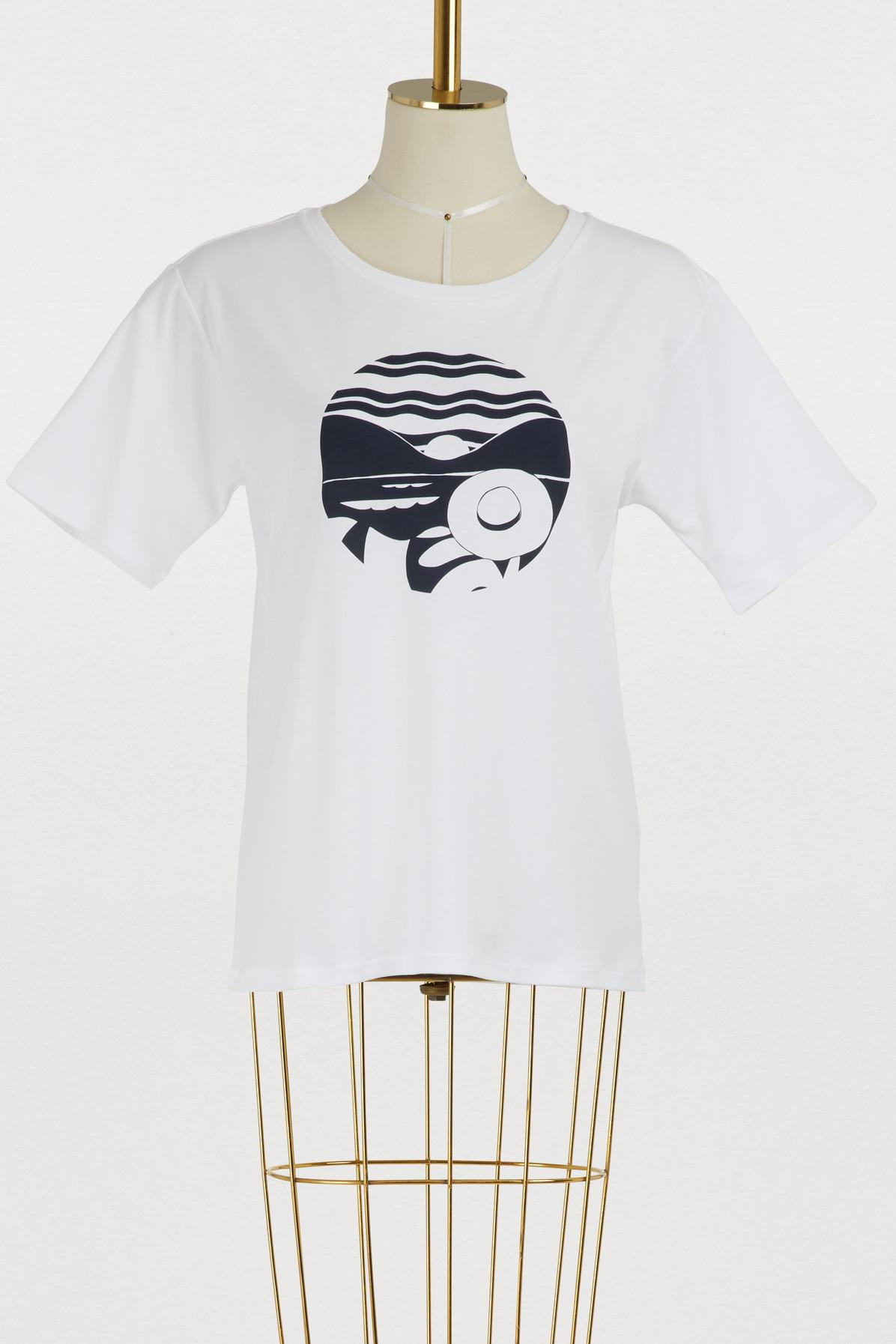 VANESSA SEWARD T-shirt Gaia hat en coton 9xvVR1xEYB