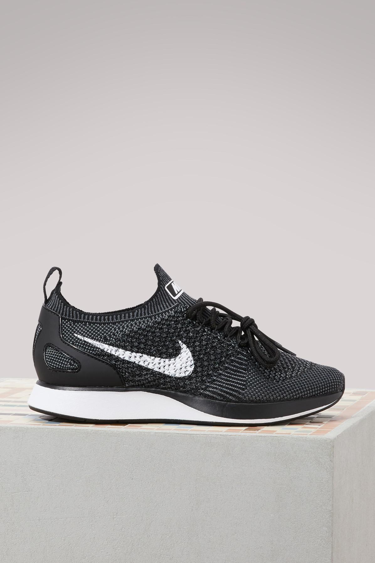 5f655e5a6305 Nike Air Zoom Mariah Flyknit Racer Sneakers in Gray - Lyst