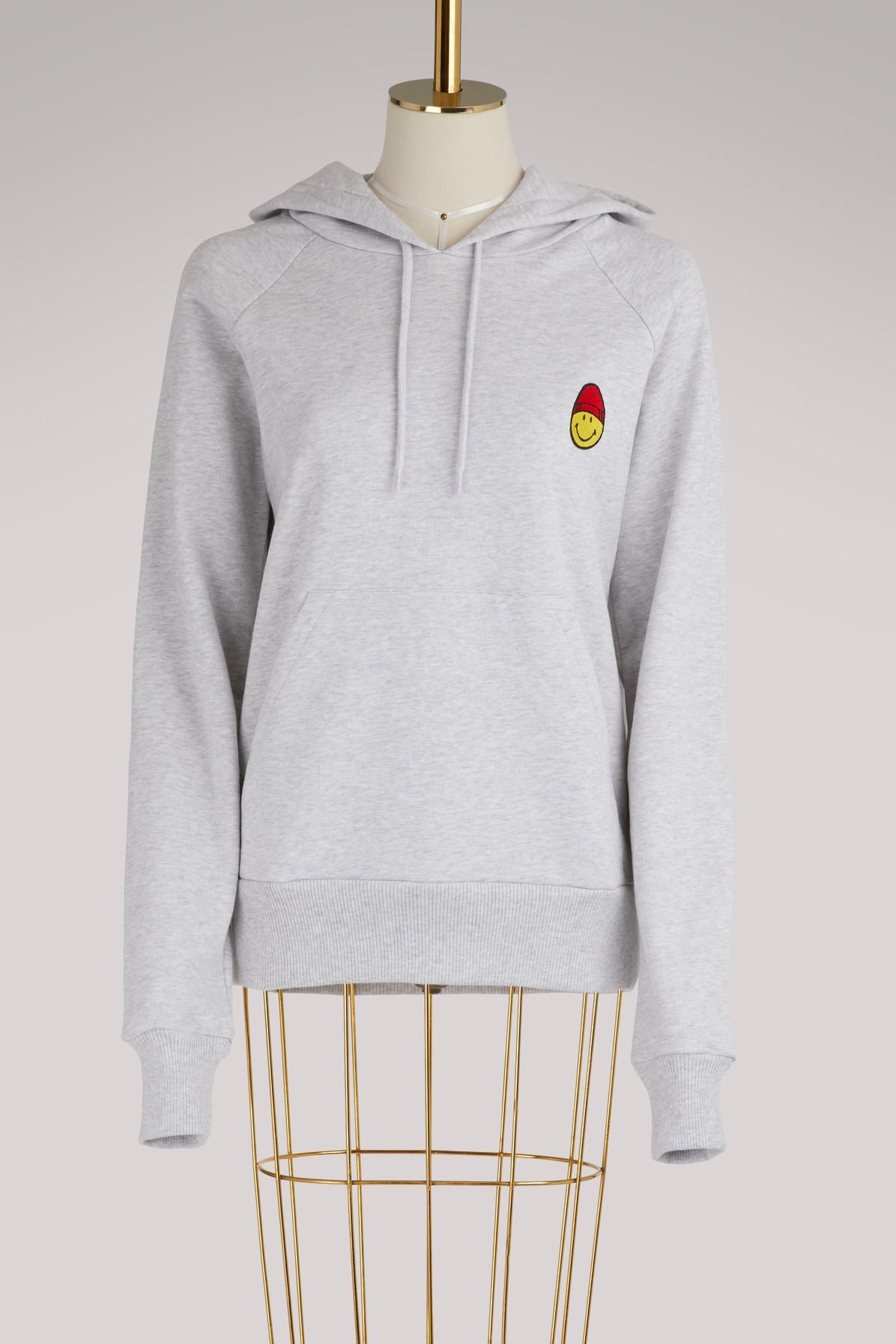 Smiley cotton sweatshirt Ami Discount Shop For SFPOcT0hxL