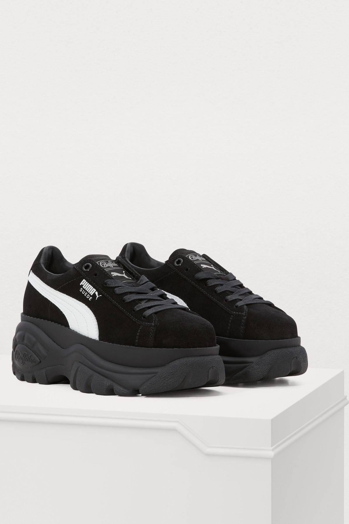 3338eeb37e2 PUMA - Black Buffalo Sneakers - Lyst. View fullscreen