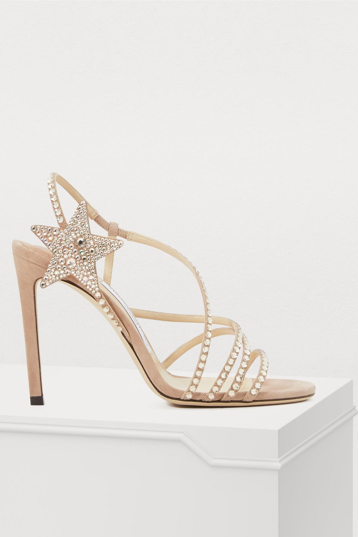 8c9b9a486eb2 Jimmy Choo. Women s Lynn 100 Sandals